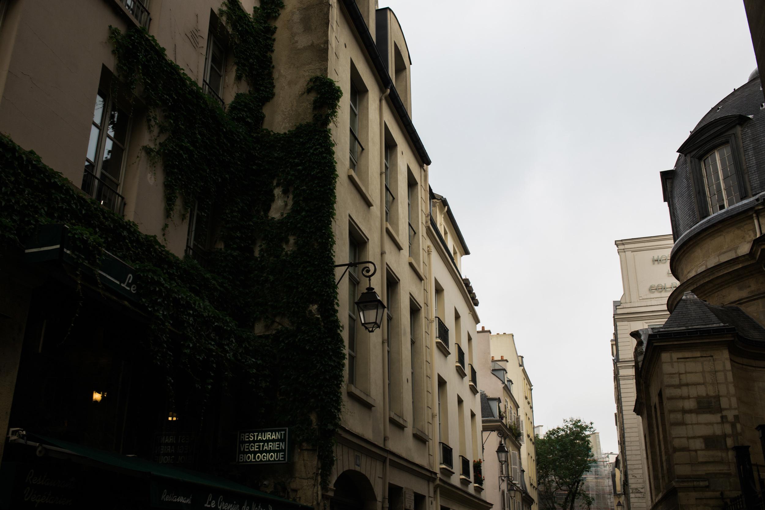 Down alleyways