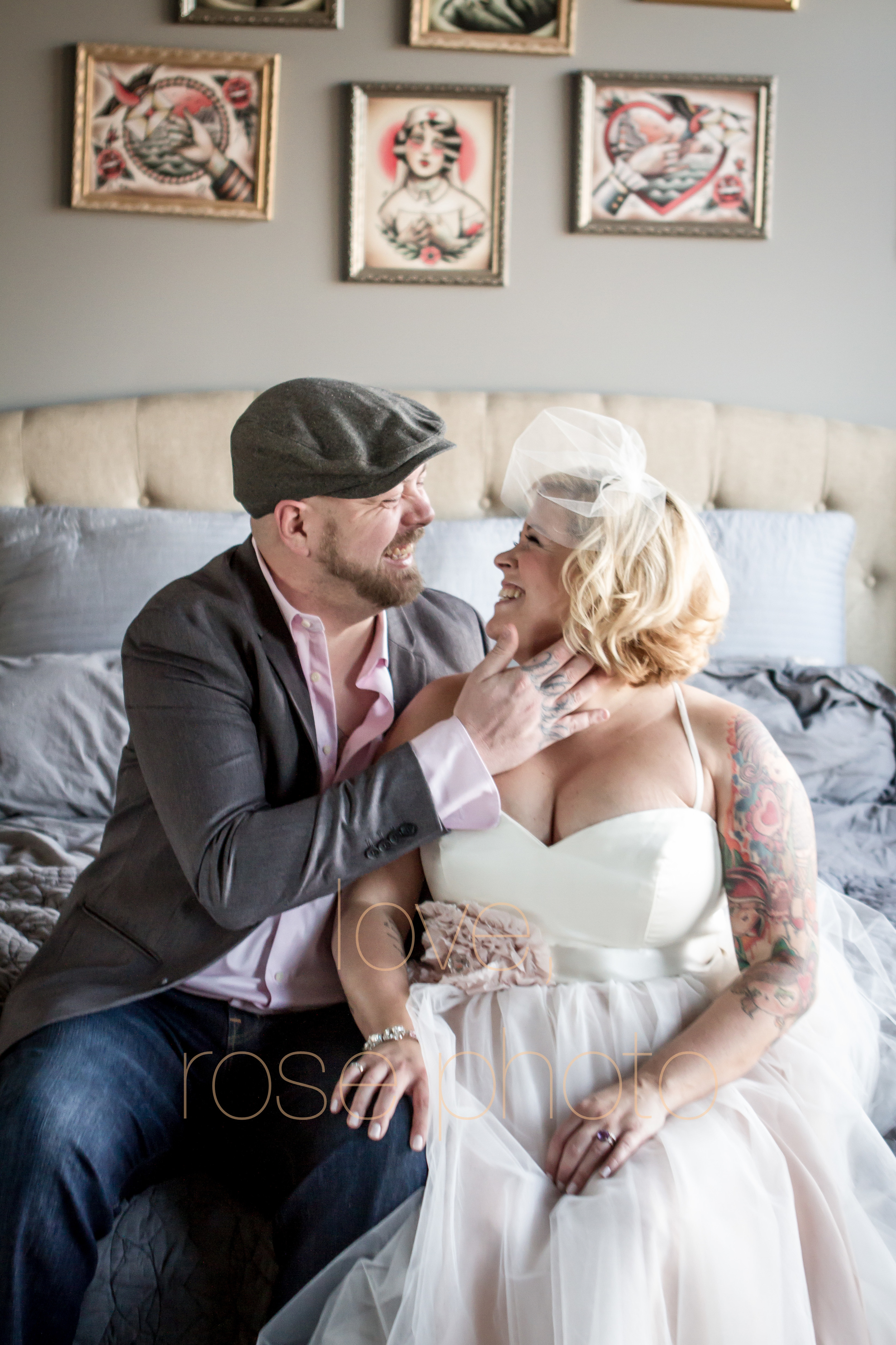nikki + mike west loop vintage classic throwback pinup rock and roll tattoo photoshoot engagement wedding photo shoot-005.jpg