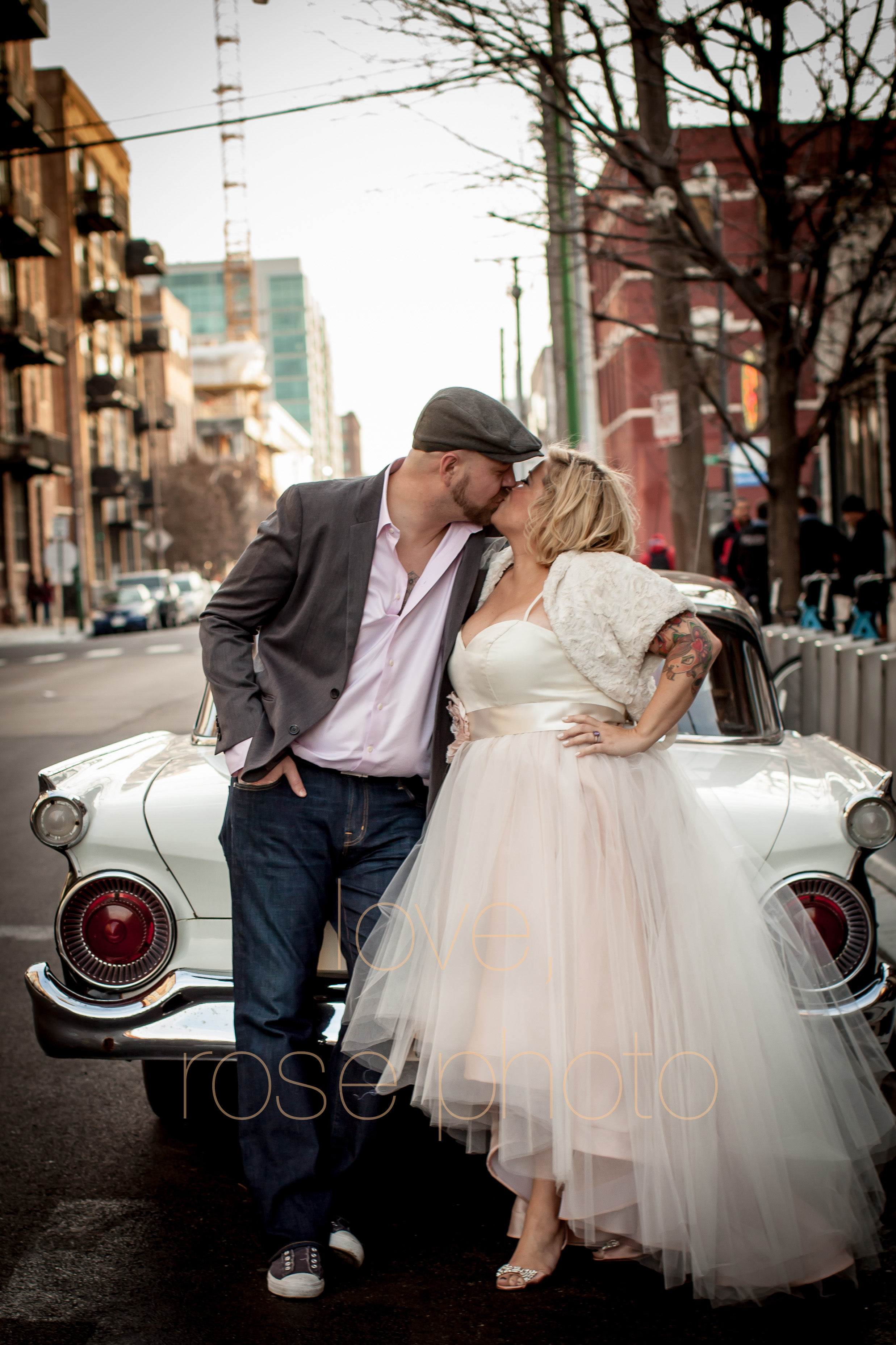 nikki + mike west loop vintage classic throwback pinup rock and roll tattoo photoshoot engagement wedding photo shoot-014.jpg