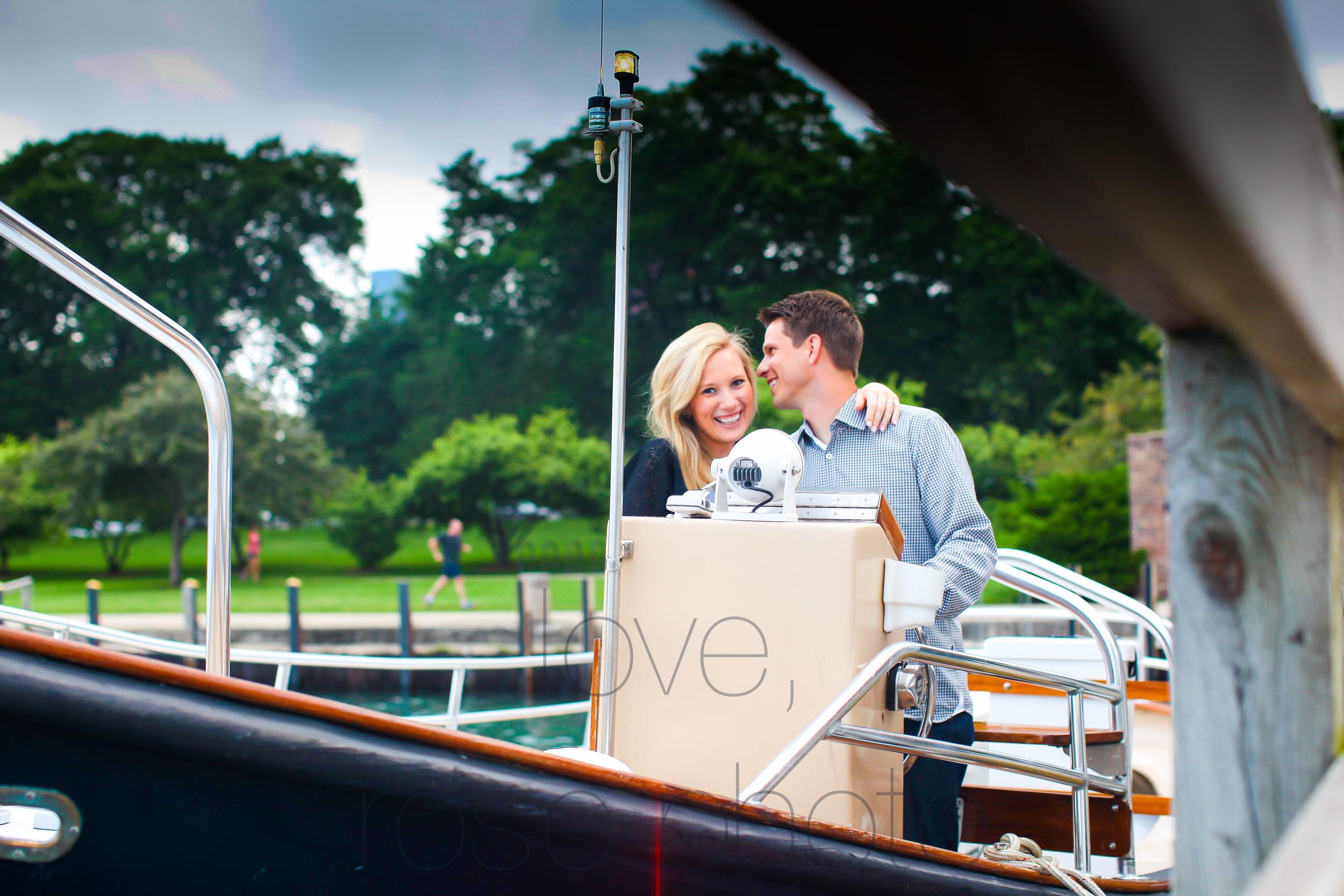 chicago yacht club lake front engagement shoot olive park chicago theater wedding photographer rose photo-005.jpg