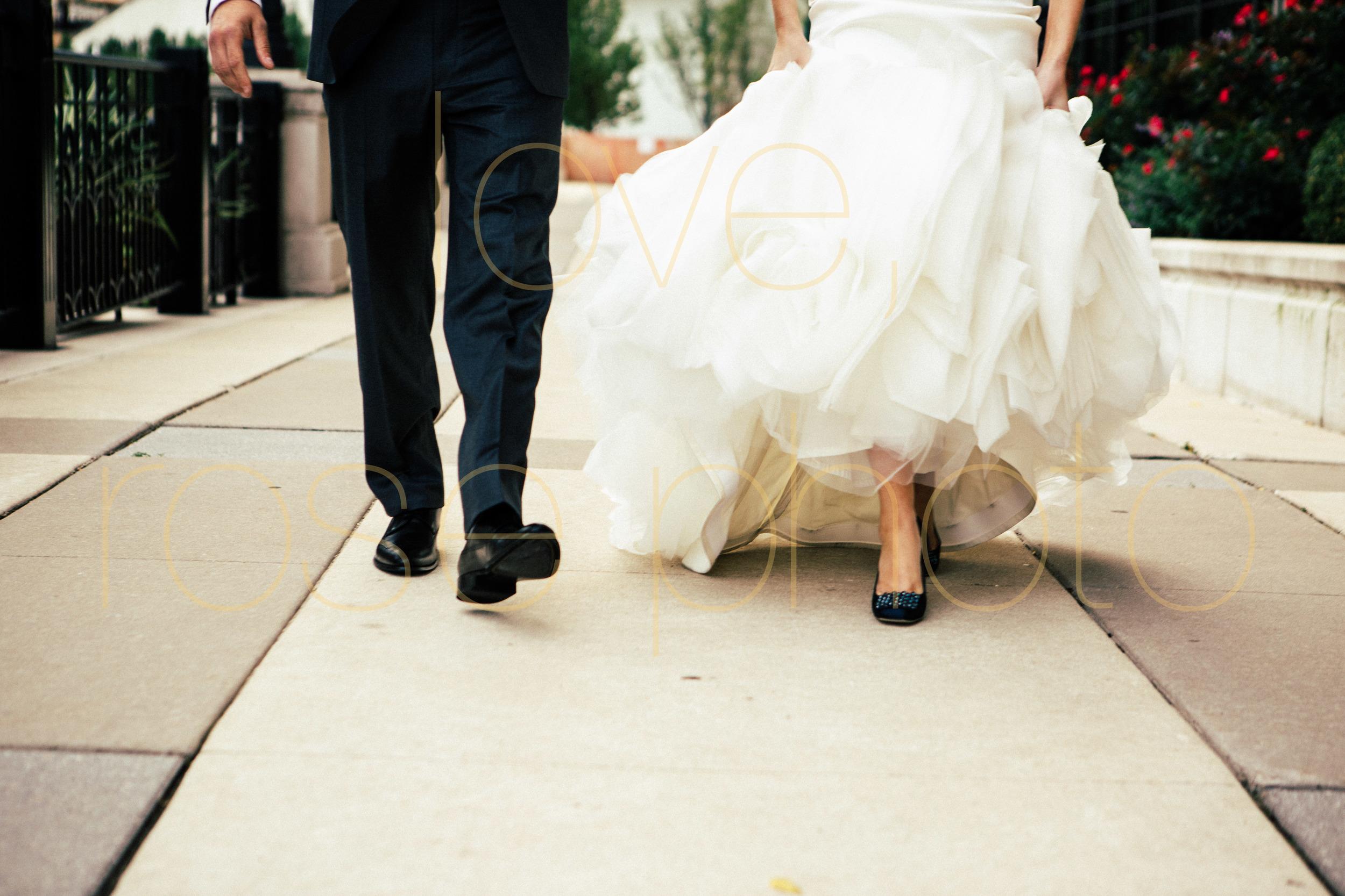 Jodie + Phil Chicago wedding Galleria Marchetti Vera Wang Modern Luxury Brides CS rosegold kinzie street brige -010.jpg