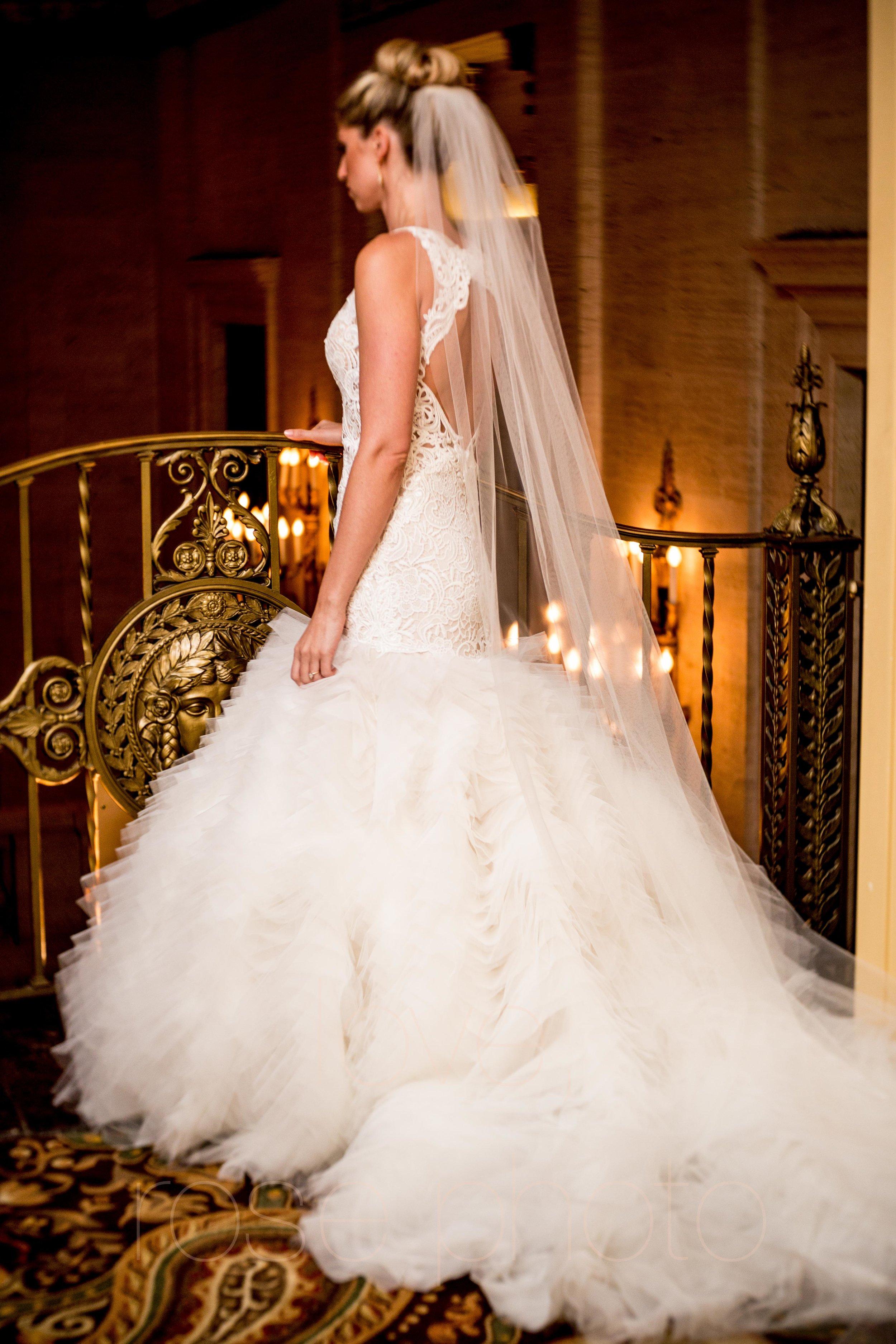 downtown spring wedding palmer house jewish galleria marchetii lazara gown by Rose Photo -6.jpg
