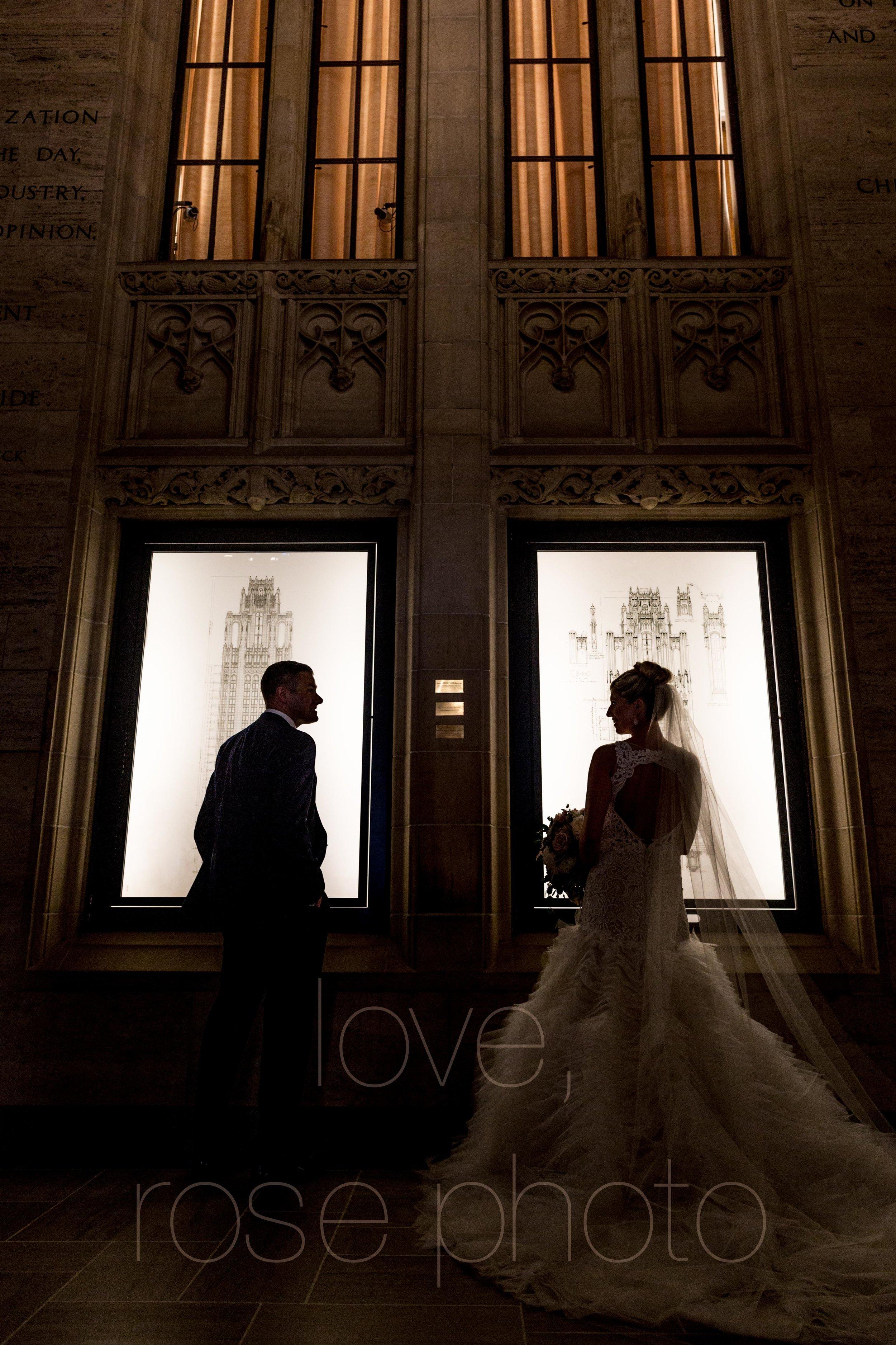 downtown spring wedding palmer house jewish galleria marchetii lazara gown by Rose Photo -16.jpg