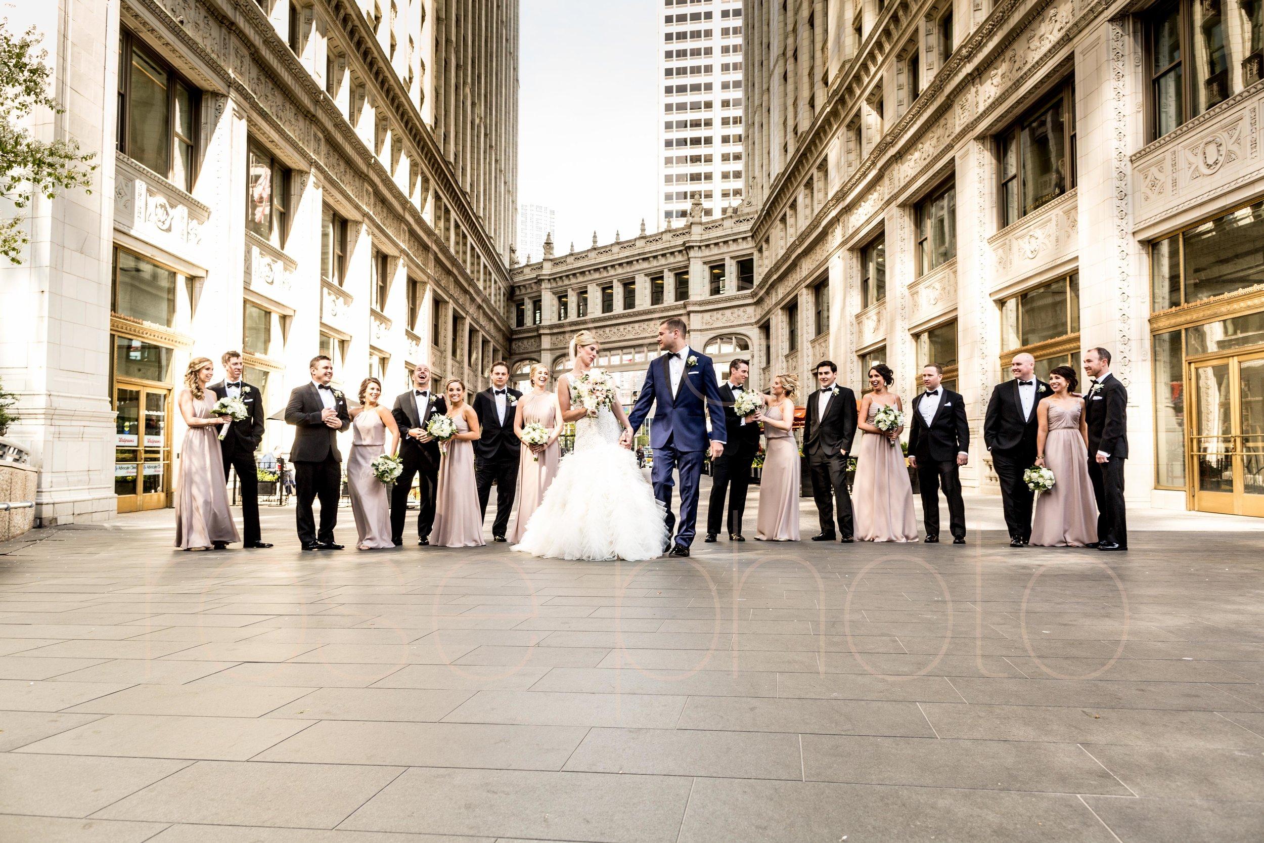 downtown spring wedding palmer house jewish galleria marchetii lazara gown by Rose Photo -19.jpg