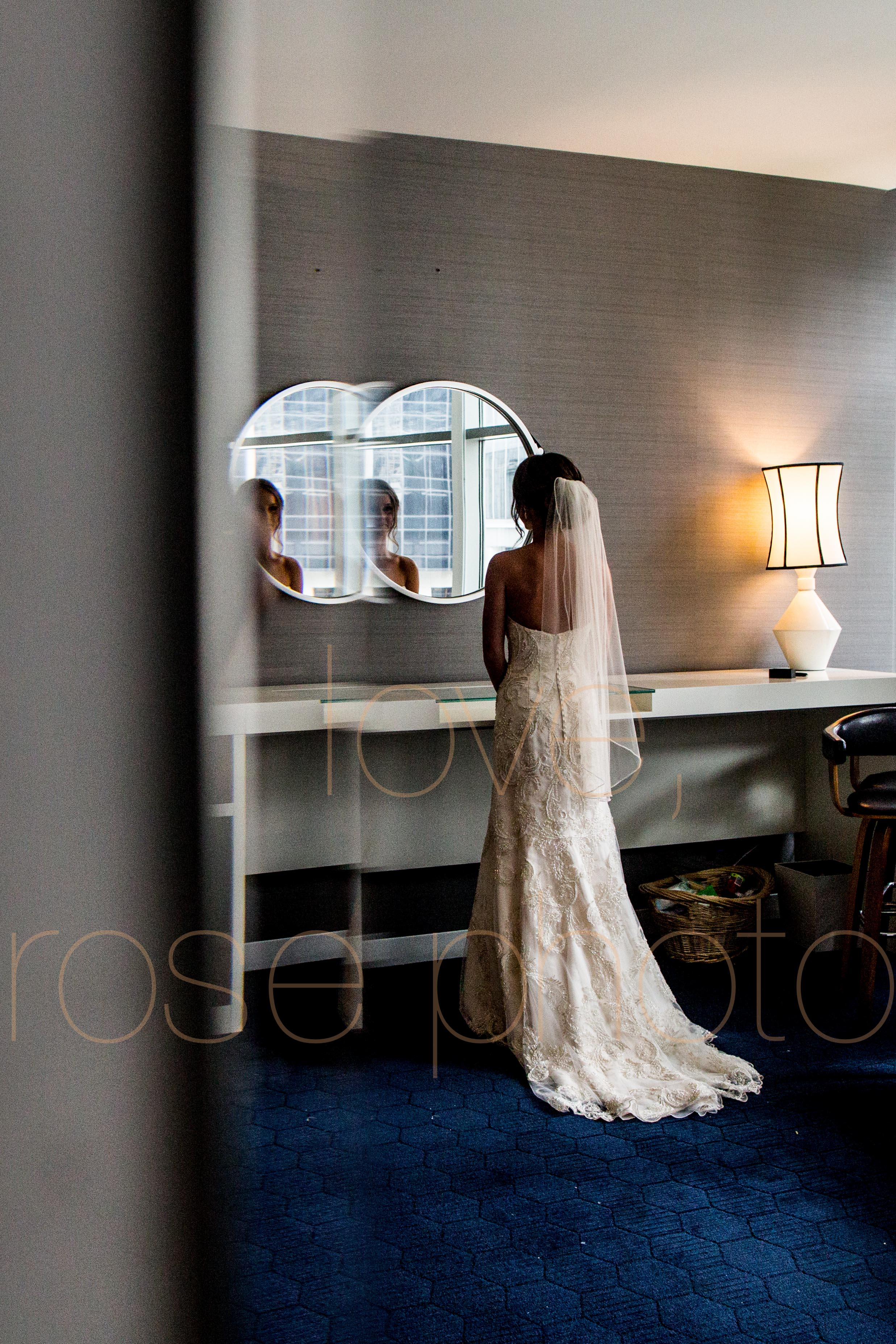 Justine + Matt big day downtown Chicago River Roast wedding by Rose Photo-14.jpg