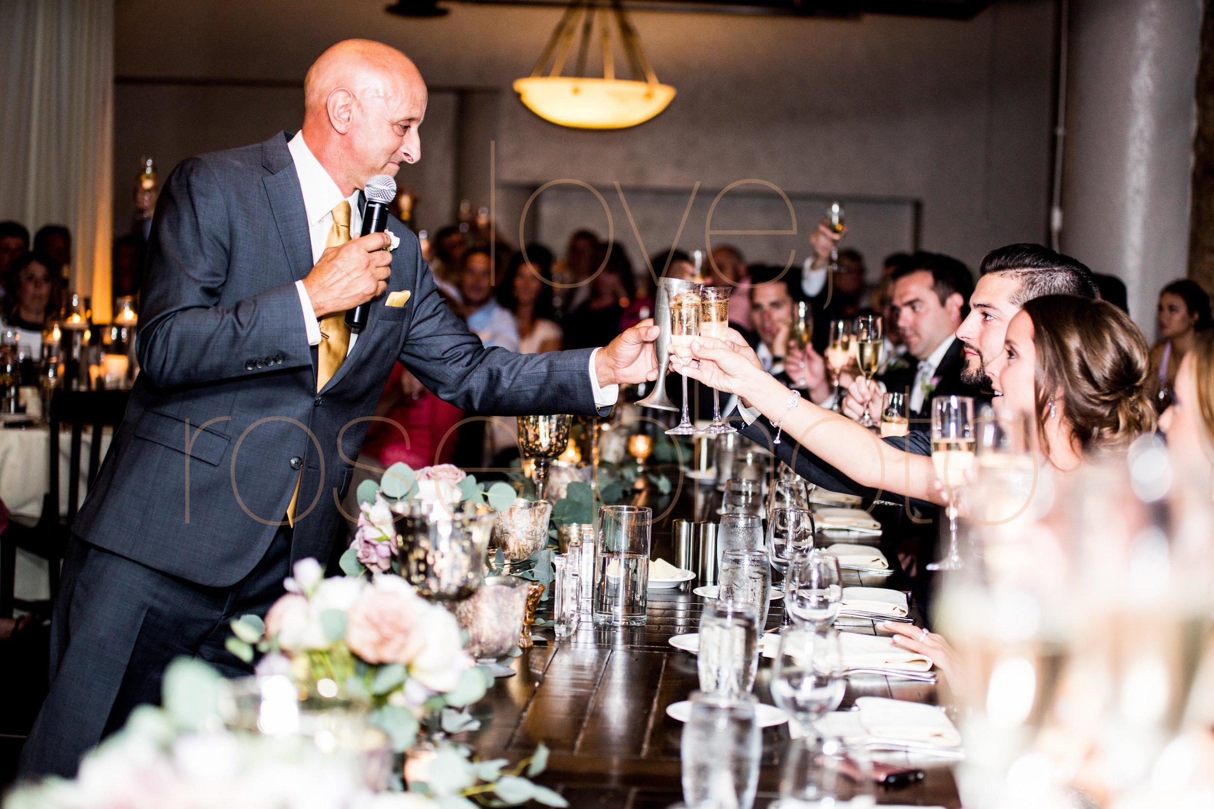 Justine + Matt big day downtown Chicago River Roast wedding by Rose Photo-37.jpg