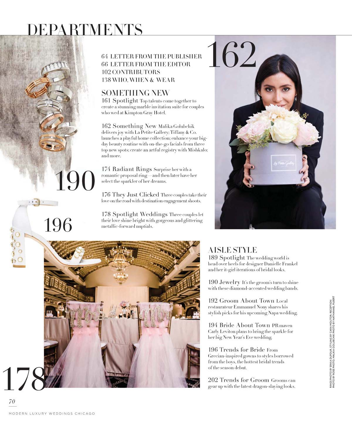 Luxury WEDDINGS Chicago Photographer - SS 2018 Issue - Rose Photo Complete Coverage-2.jpg