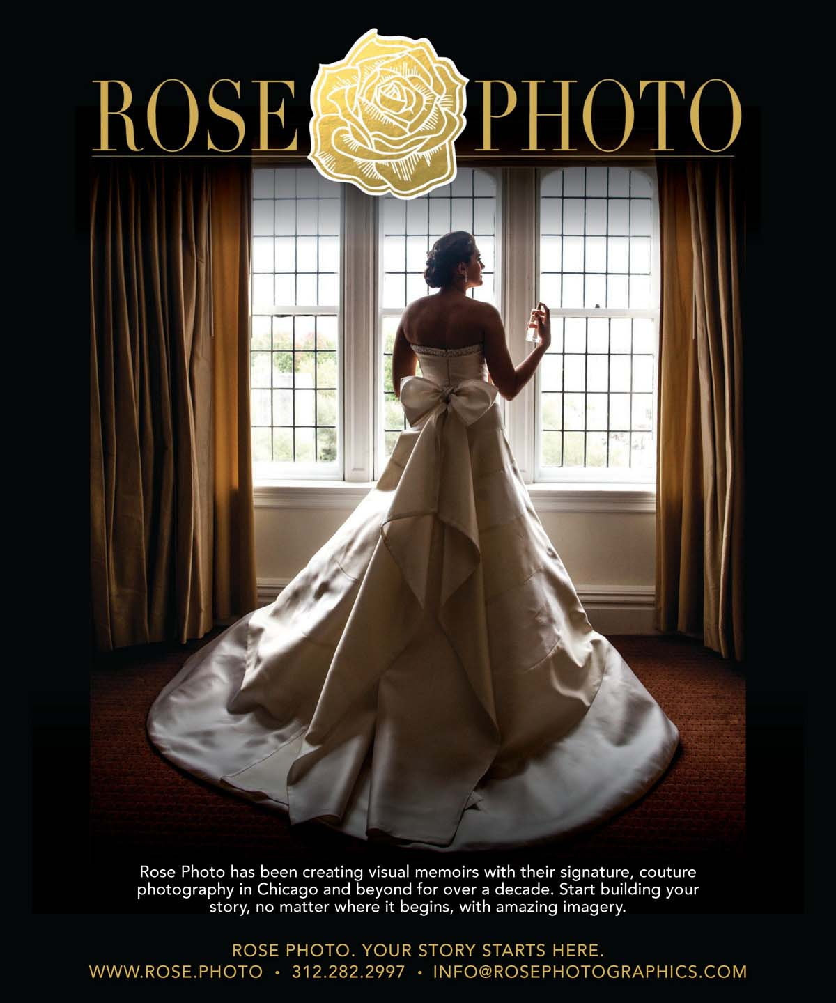 Downtown Luxury WEDDINGS Chicago Photographer- SS 2018 Issue - Rose Photo Complete Coverage-9.jpg