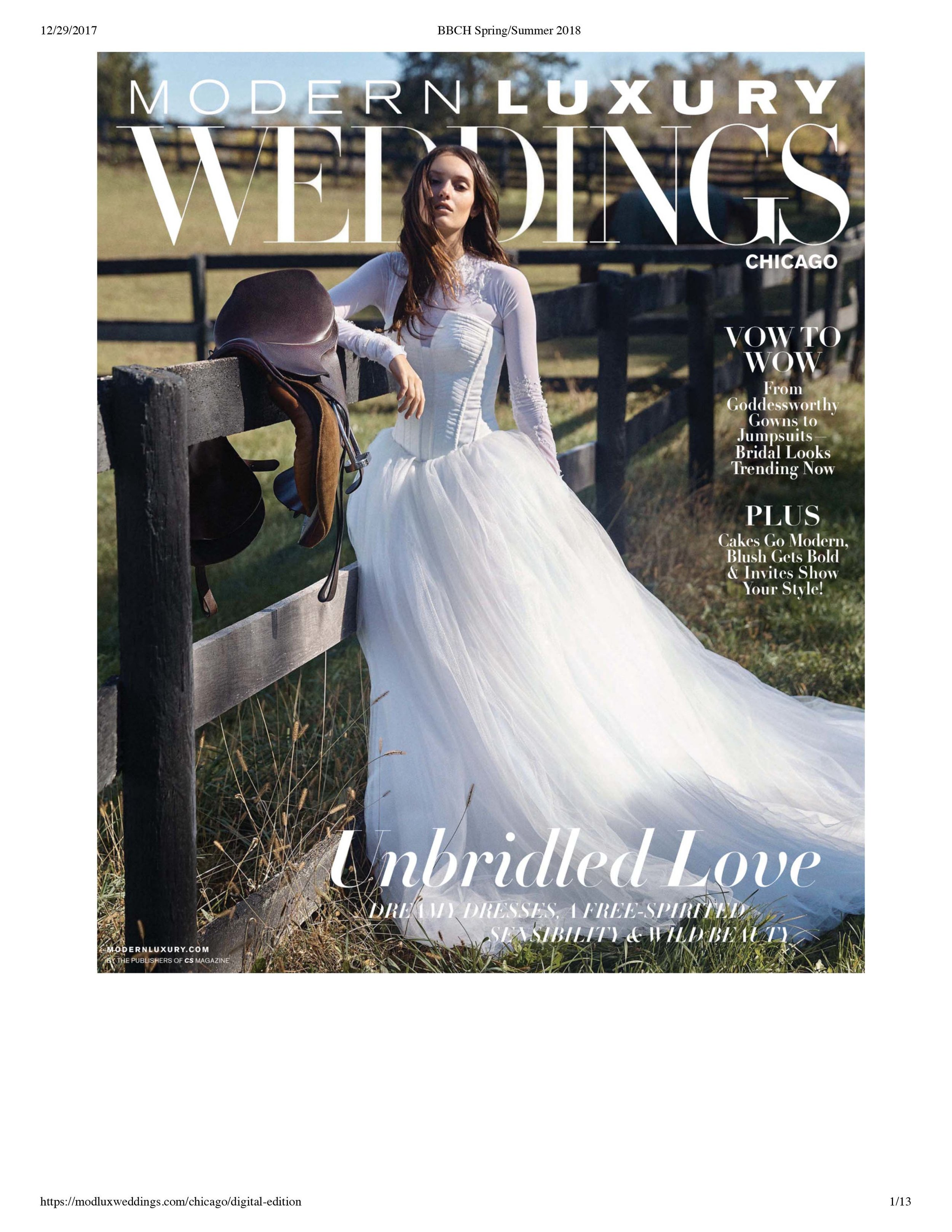 Luxury WEDDINGS Chicago Photographer - SS 2018 Issue - Rose Photo Complete Coverage-1.jpg