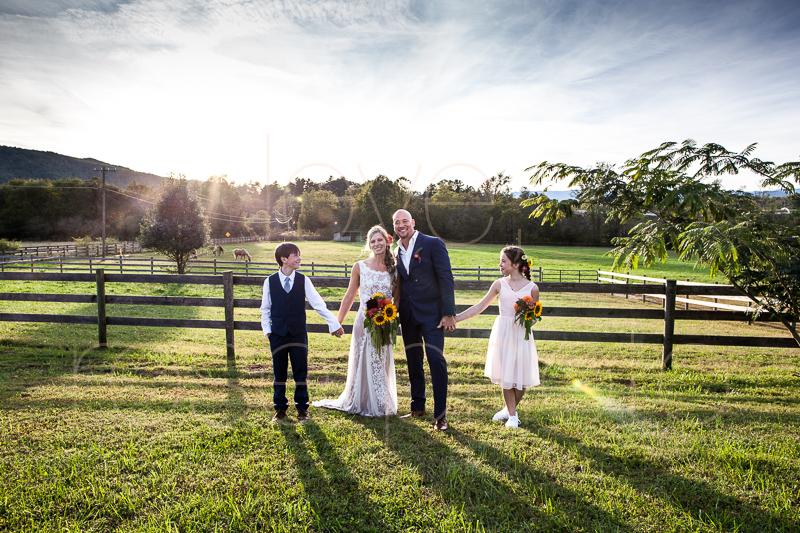 Asheville NC best wedding photographer farm bride angela kim gown wnc bridal-42.jpg