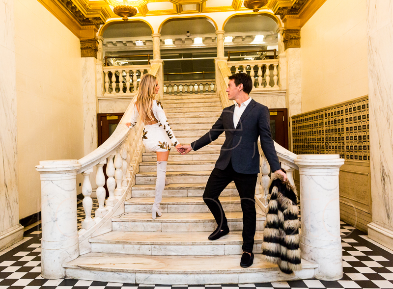 Chicago Athletic Association best wedding photographer Rose Photo bridal suite wedding venue engagment shoot-17.jpg