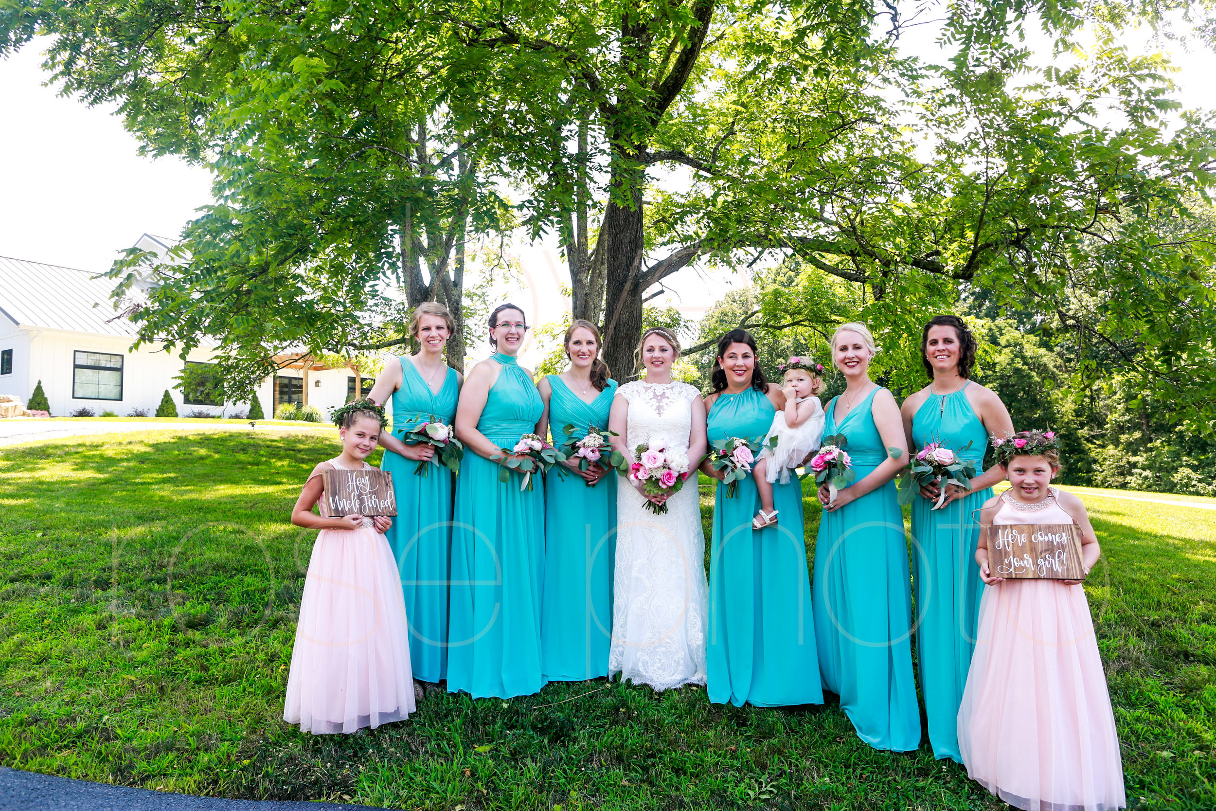 E + J Bloomington at The Wilds wedding photography pink roses blush baby blue bridesmaids dress flower girl destination photo -51.jpg