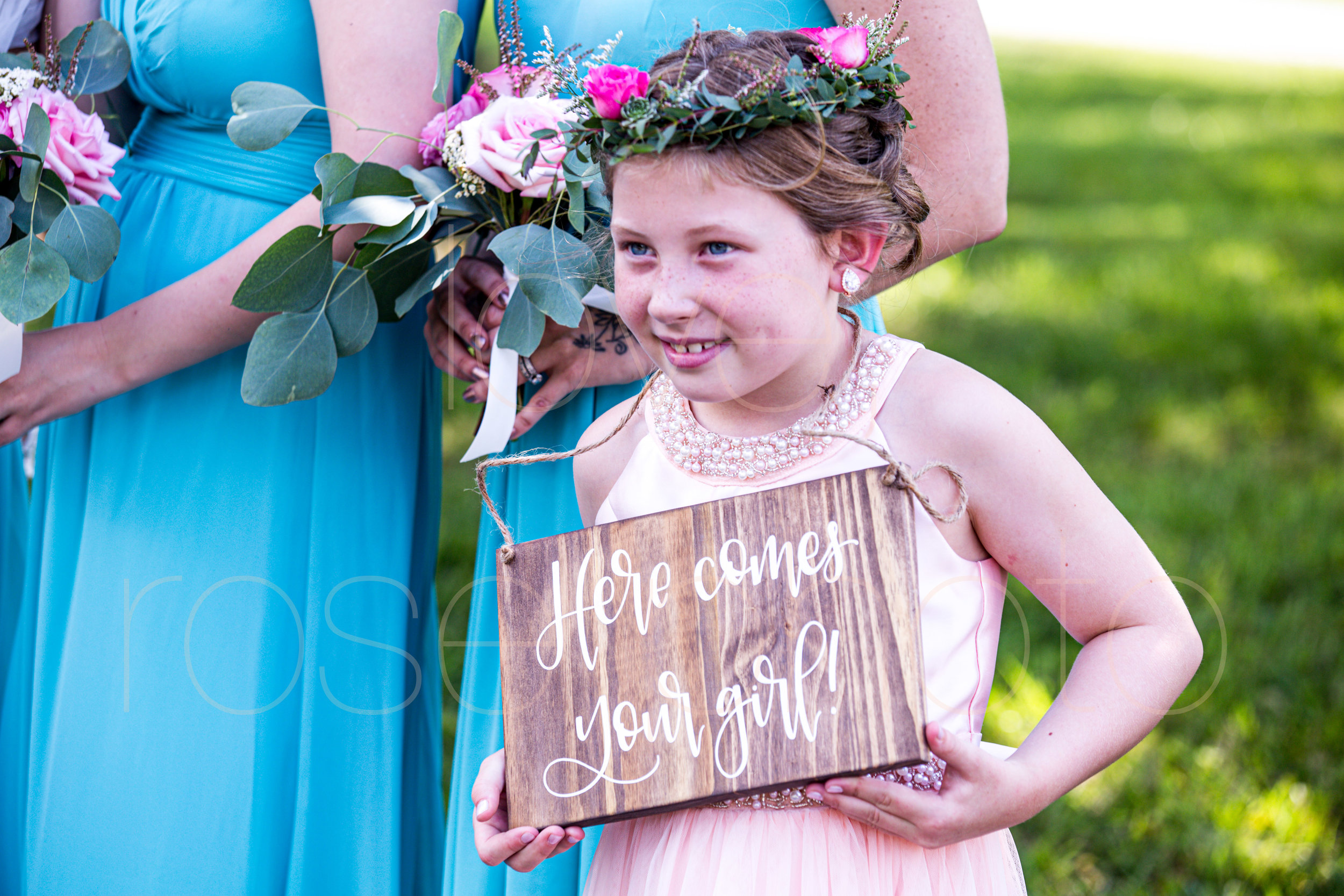 E + J Bloomington at The Wilds wedding photography pink roses blush baby blue bridesmaids dress flower girl destination photo -53.jpg