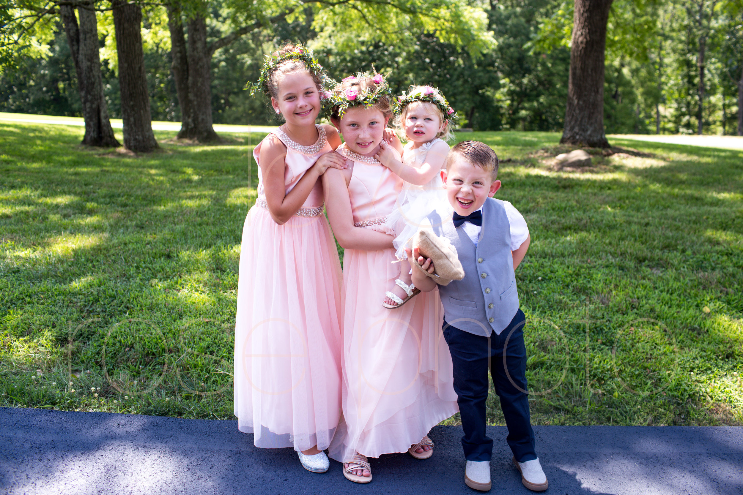 E + J Bloomington at The Wilds wedding photography pink roses blush baby blue bridesmaids dress flower girl destination photo -59.jpg