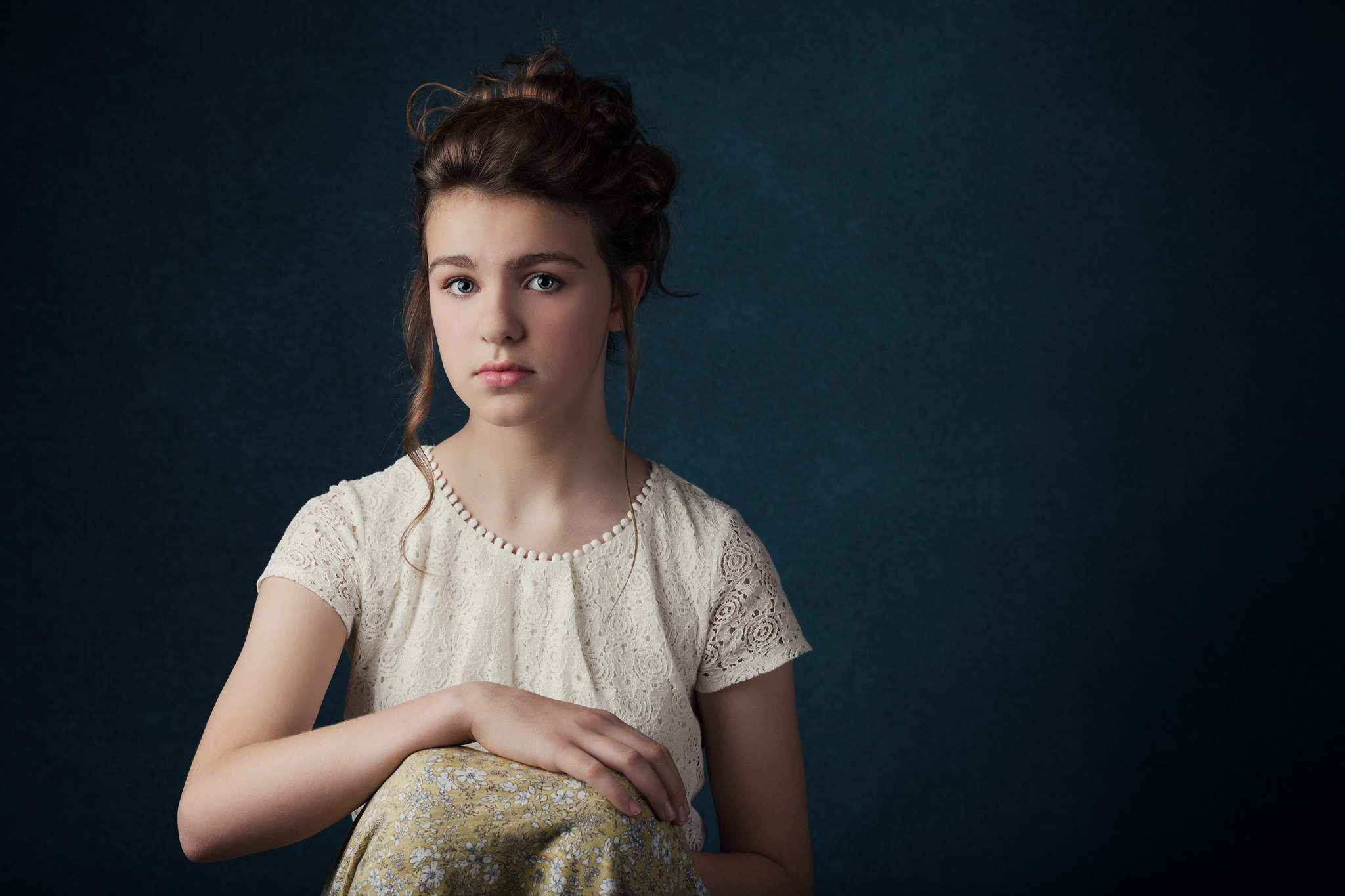 Portraiture photography for children and families.