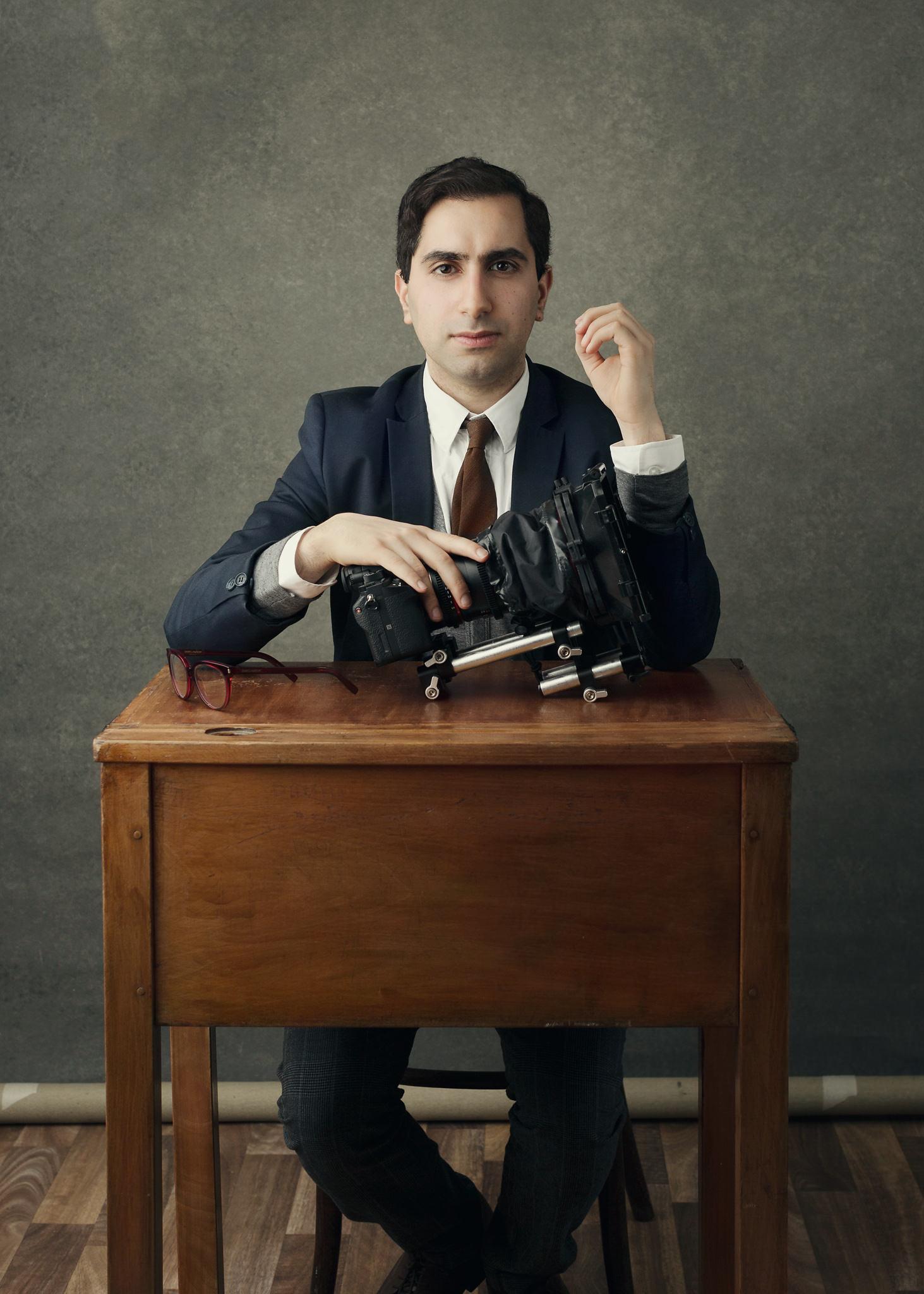 Editorial portrait photography UK