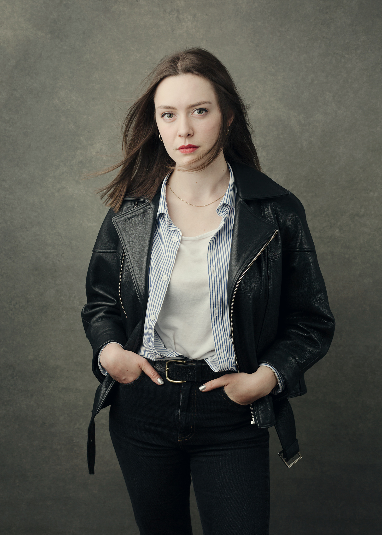 Rosie editorial portrait by David Shoukry