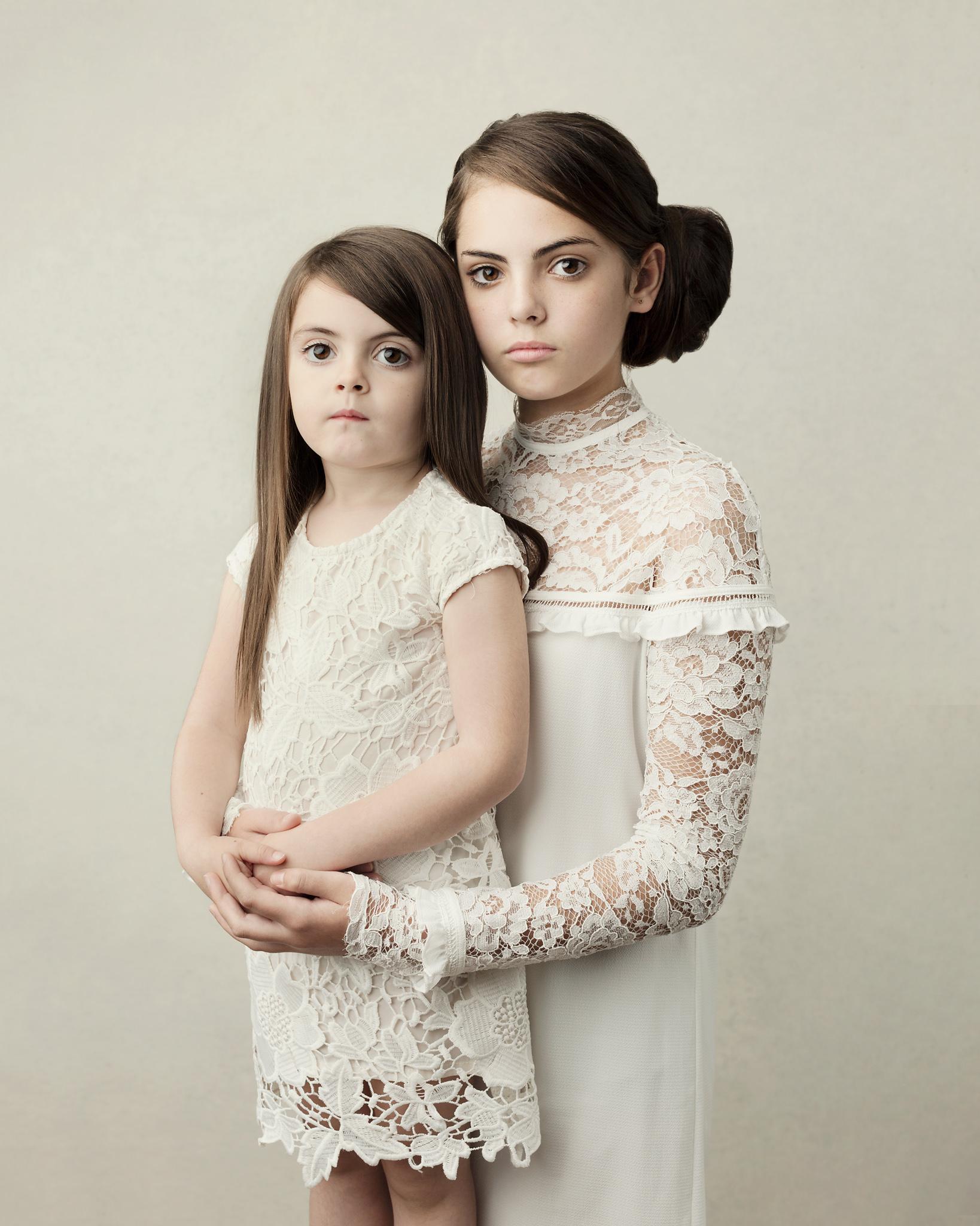 Isabella and sister Indiana