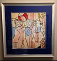 Nudes with Beach Ball (Roy Lichtenstein)