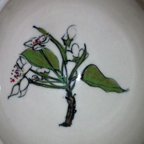 pear blossom bowl