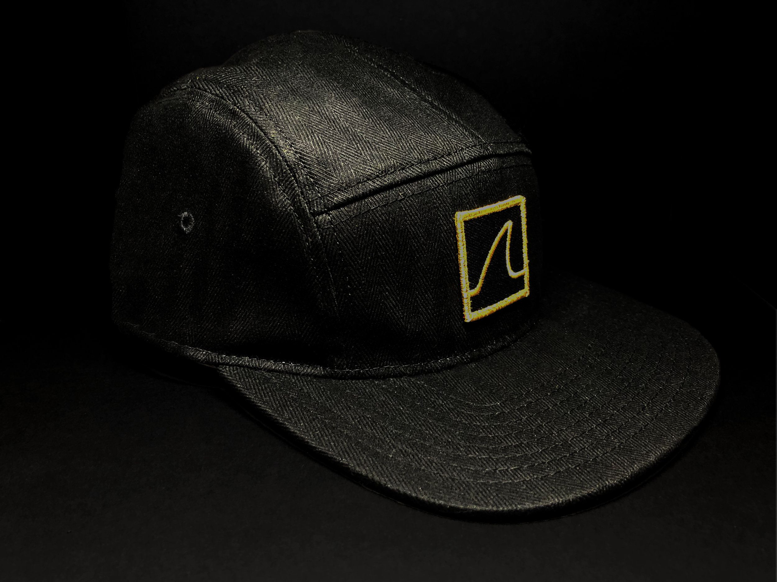 "5-Panel ""Gold Fin"" Camper Cap (Front)"