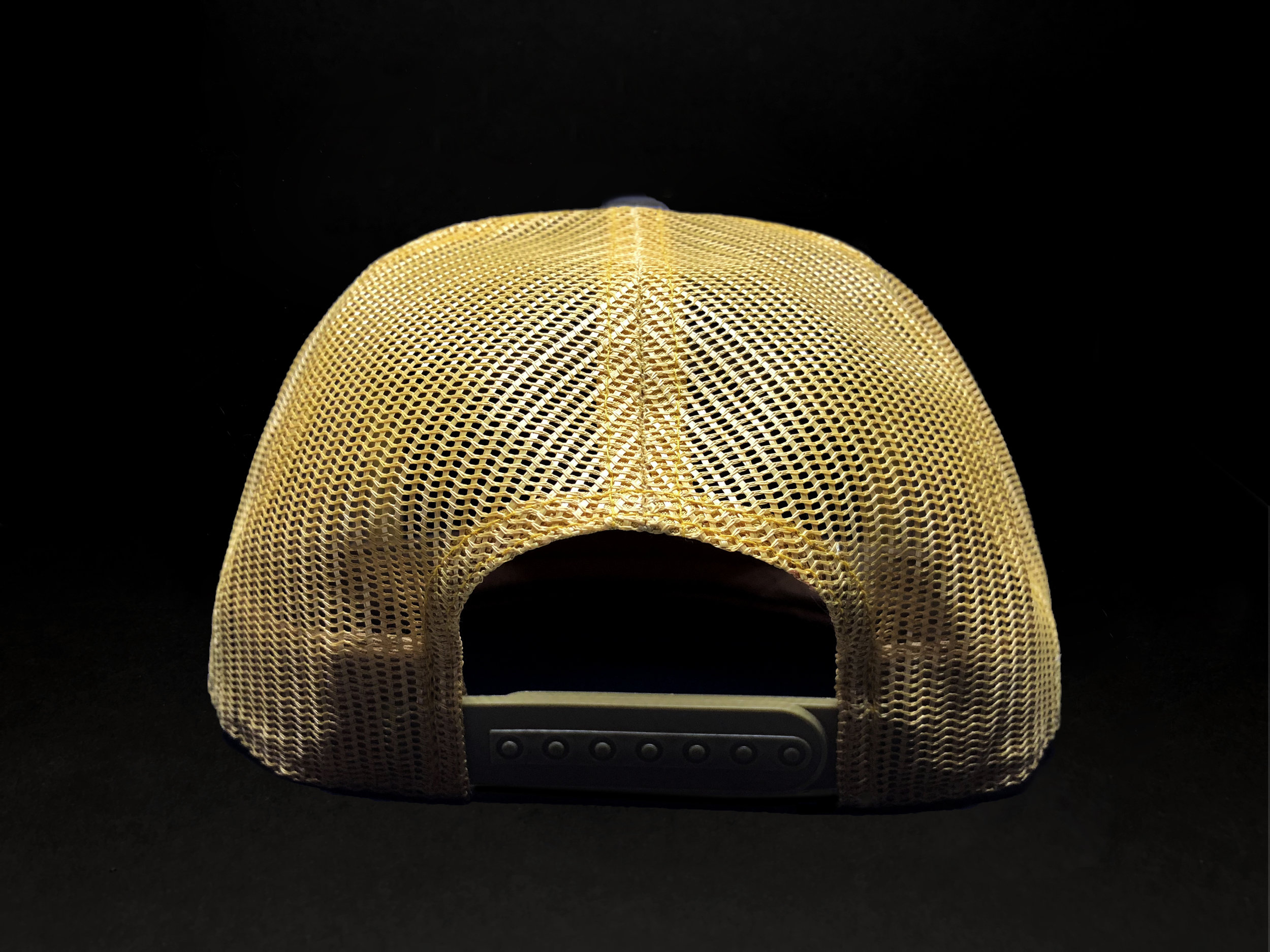 "7-Panel ""Gold Fin"" Trucker (Back)"