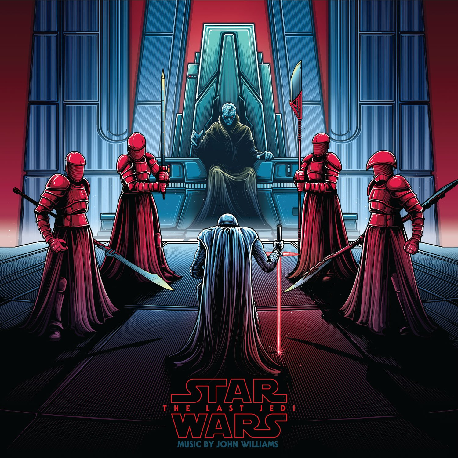 Star Wars: The Last Jedi - Original Motion Picture Soundtrack (Collector's Edition) Snoke & Kylo 2xLP