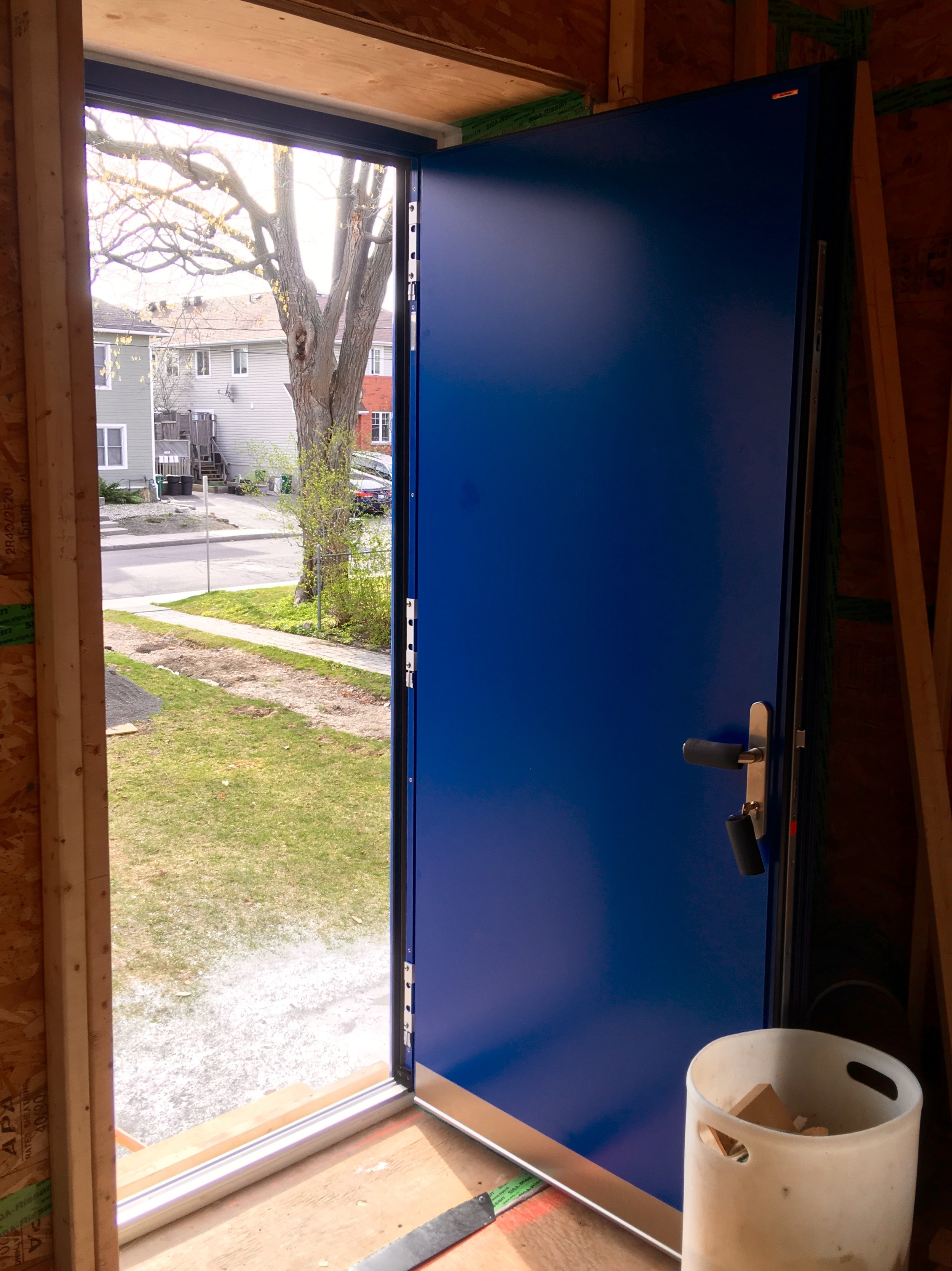 Our new blue doors will be open for all this coming Saturday!