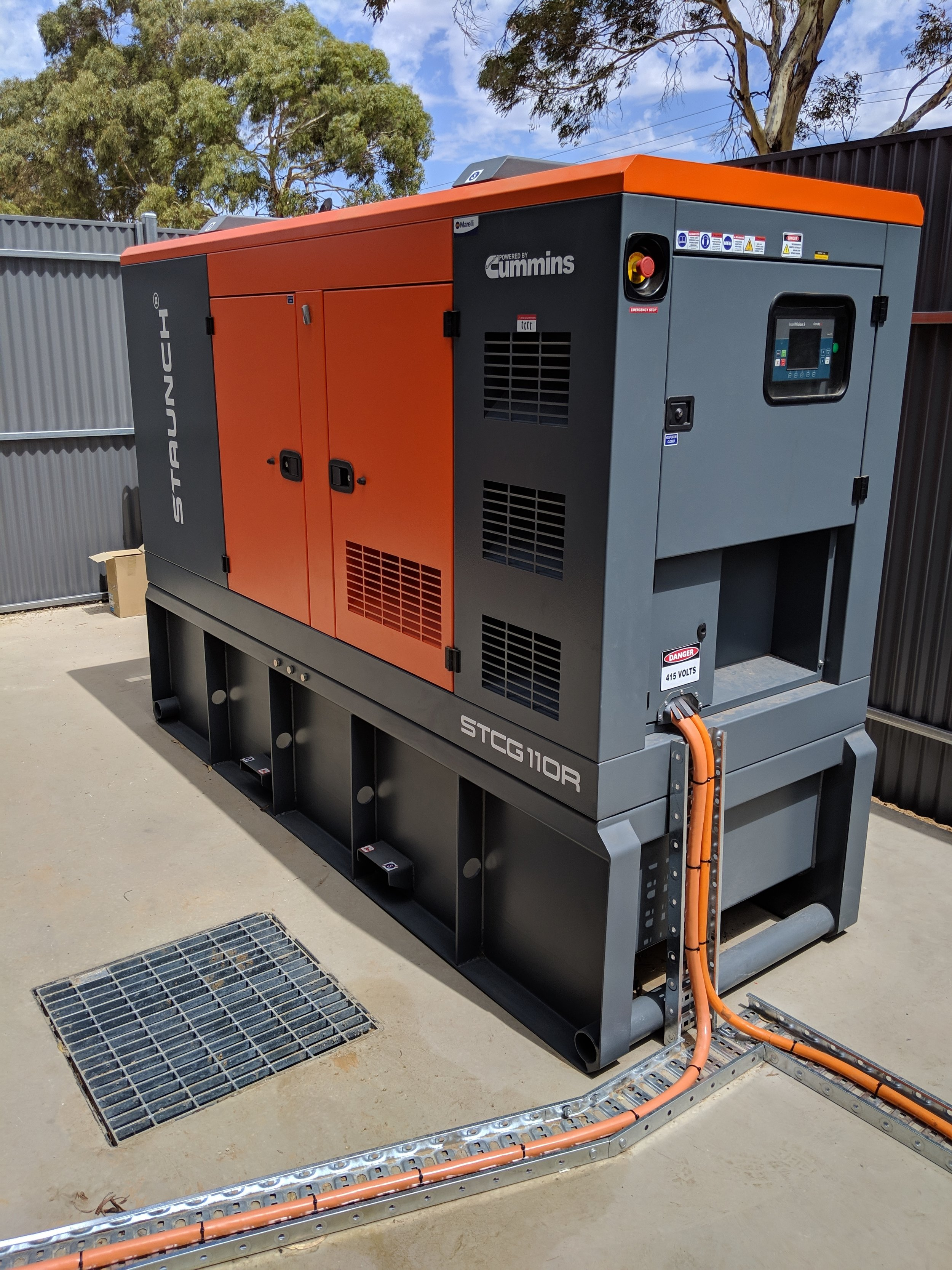 50kVa Staunch Diesel Genset with CommApp Control