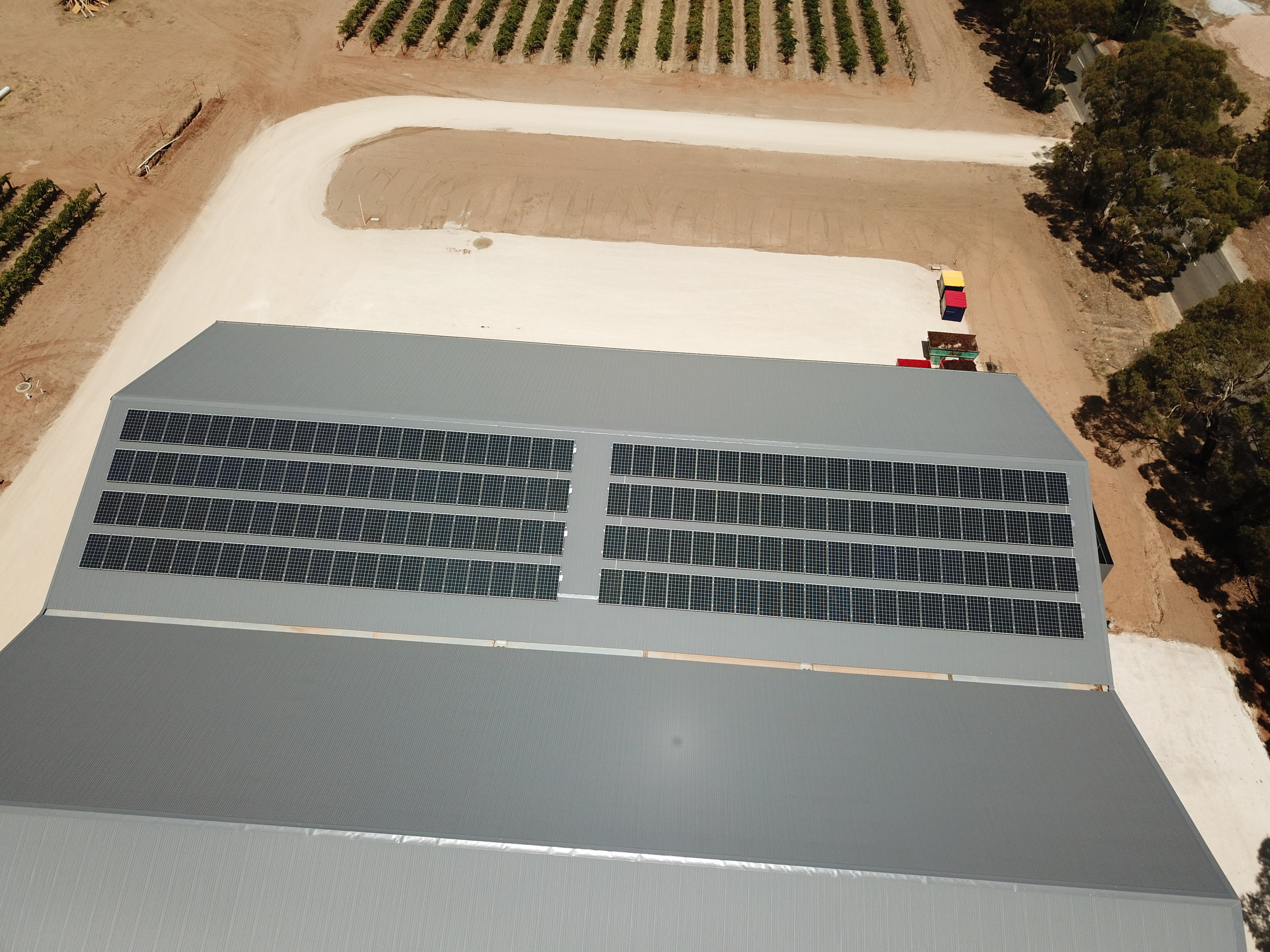 50kWp PV with Trina 300w PV Modules + Fronius Inverters