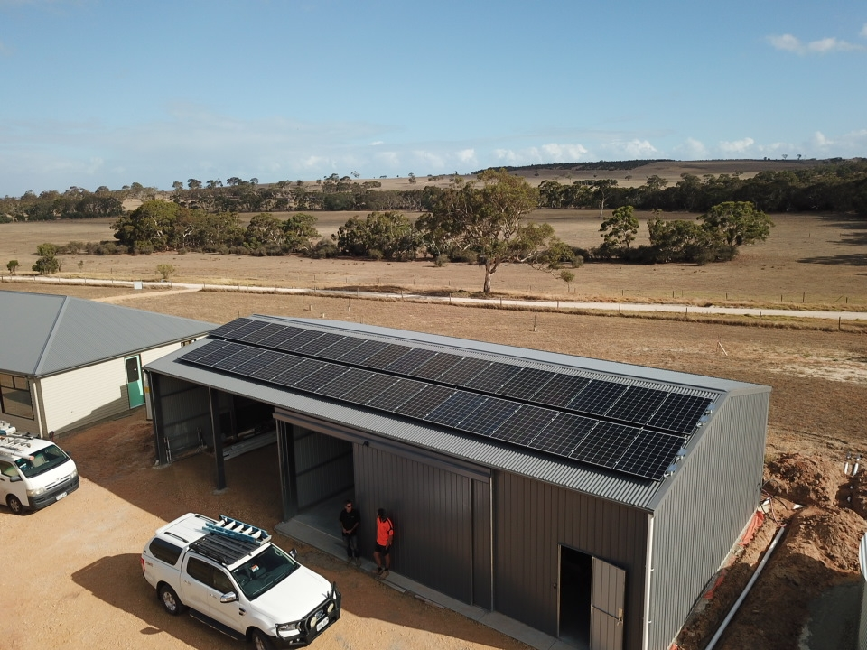 System installed in Currency Creek, SA