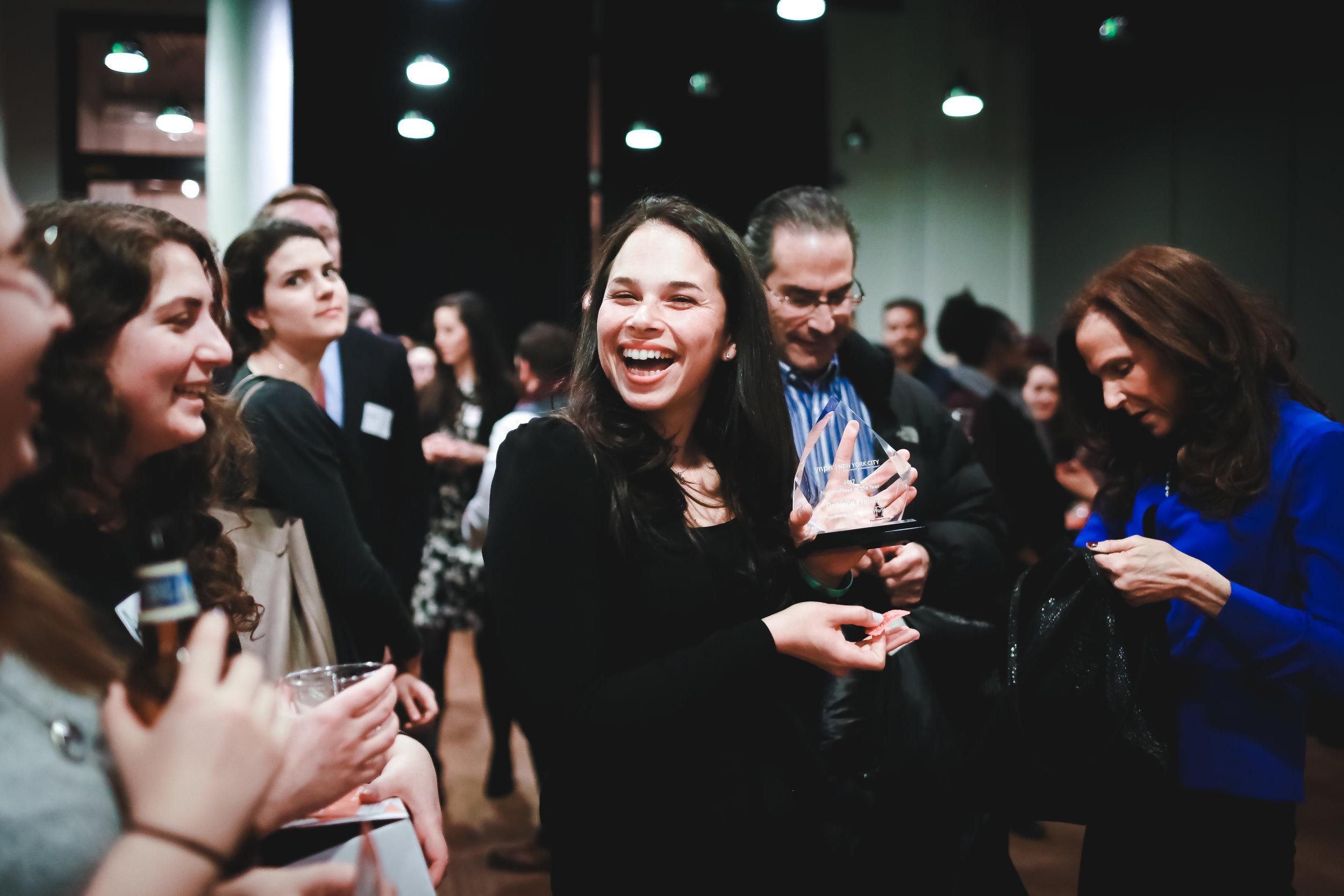 Danielle Preiser, winner of YNPN NYC's  2017 Nonprofiteer of the Year  award | PC: Jay EsPhotography