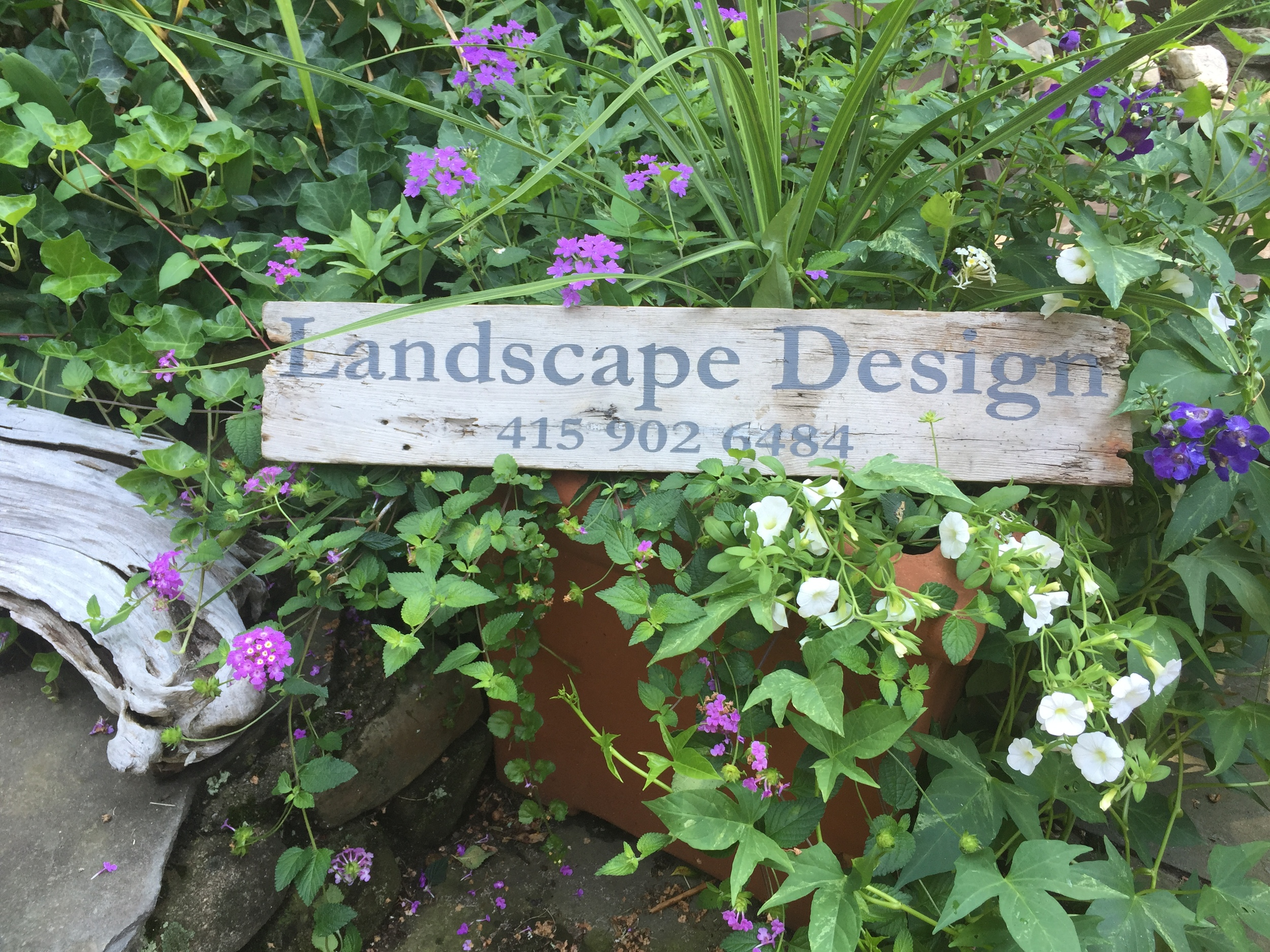 For a  California Landscape design company...
