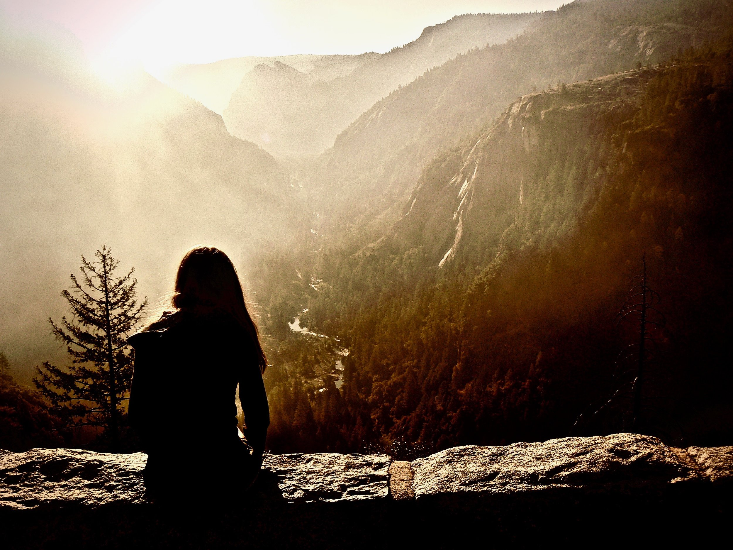 Kayla observing the sunrise over Yosemite Valley! - Version 2 (2).jpg