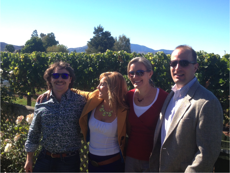 My MBA team - Picante Drew Damskey on the left, Dalia Ceja, Avis Kalfsbeek & Nate Weis