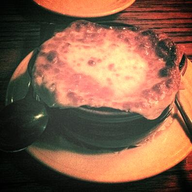 Brazen Head French Onion Soup