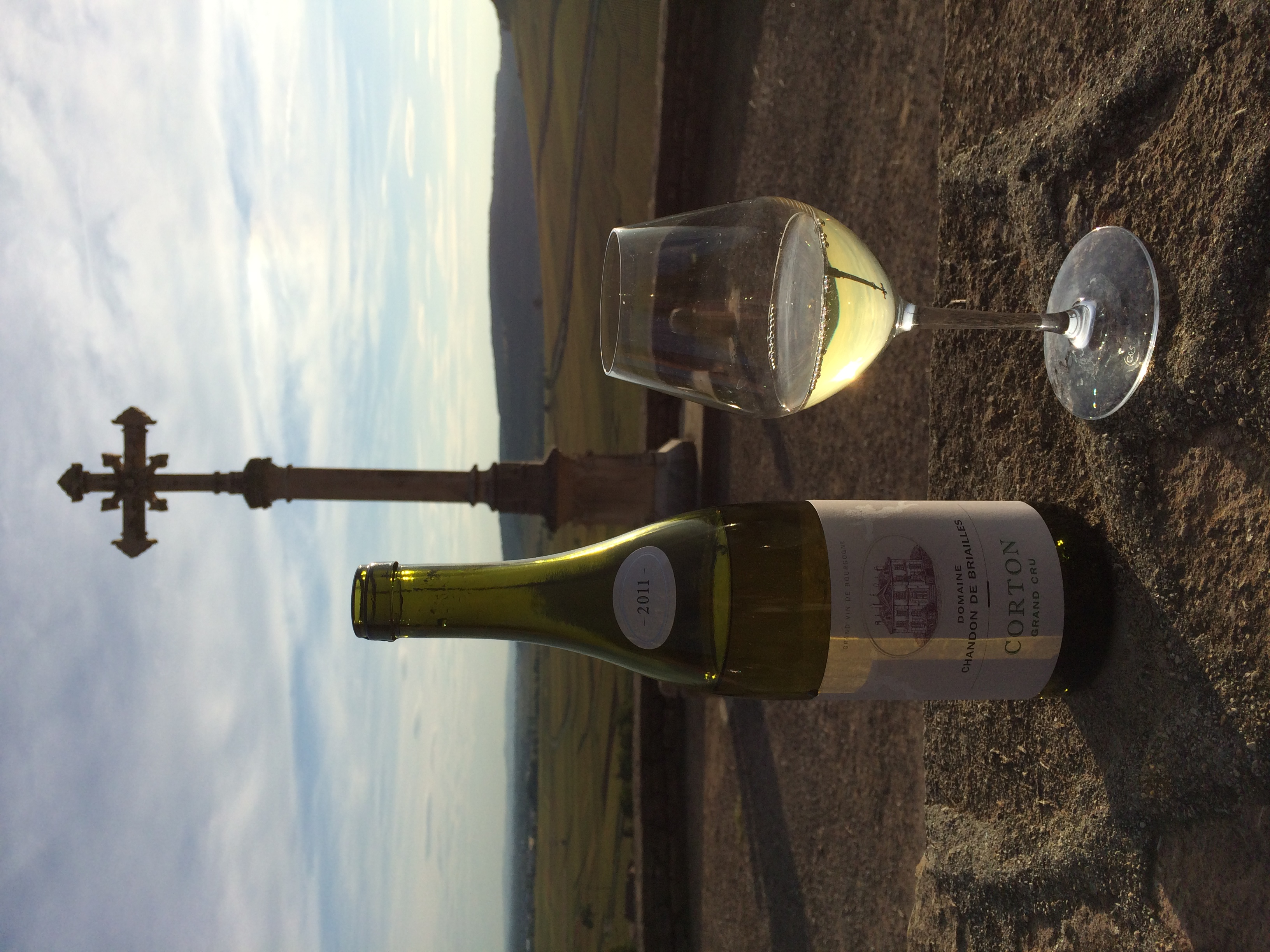 Corton is best enjoyed on the hill of Corton