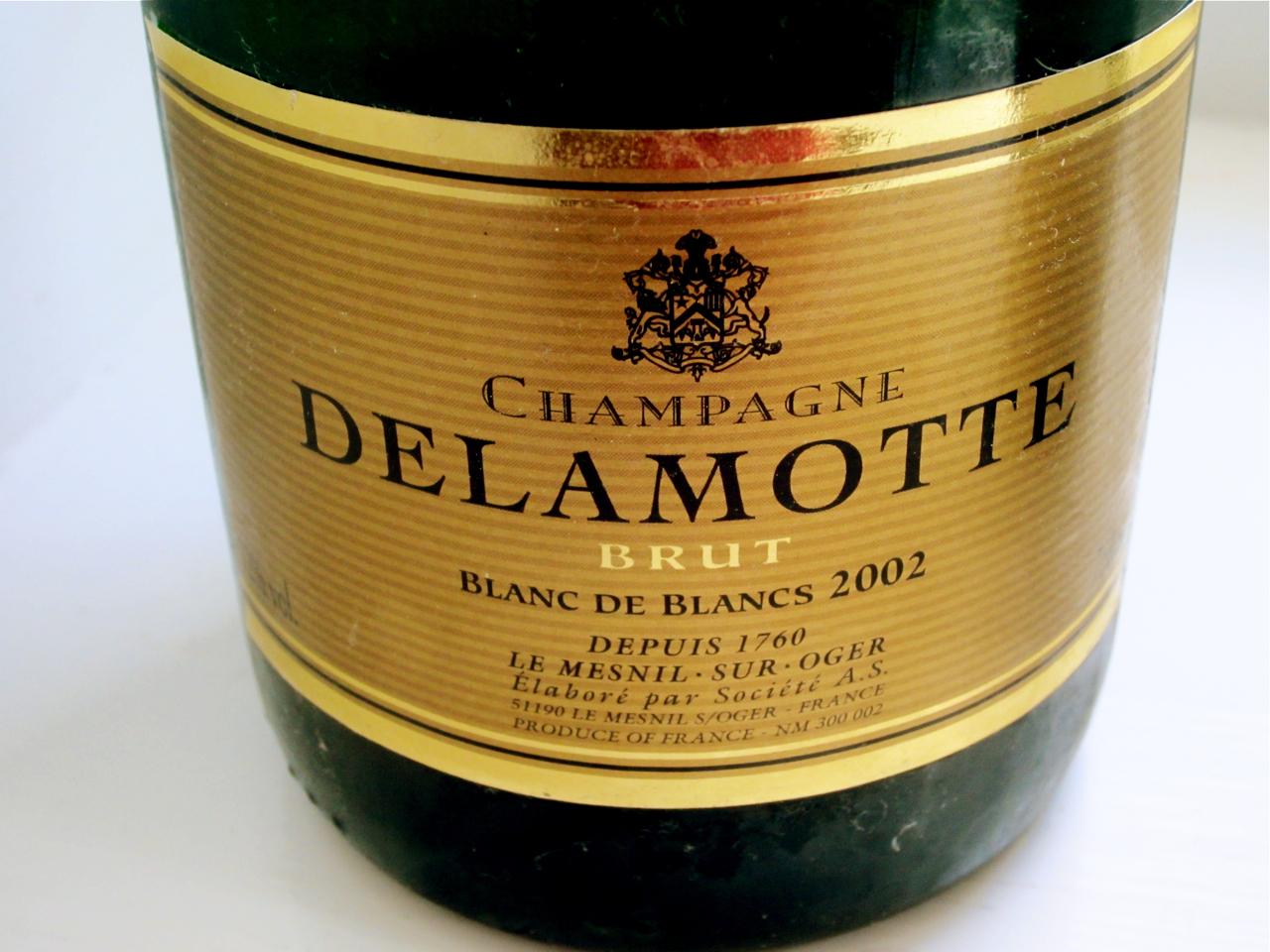 Delamotte 2002 Blanc De Blancs Brut Champane Image Source