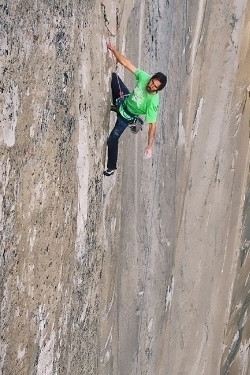 Kevin Jorgeson free climbs the Dawn Wall of El Capitan 2015