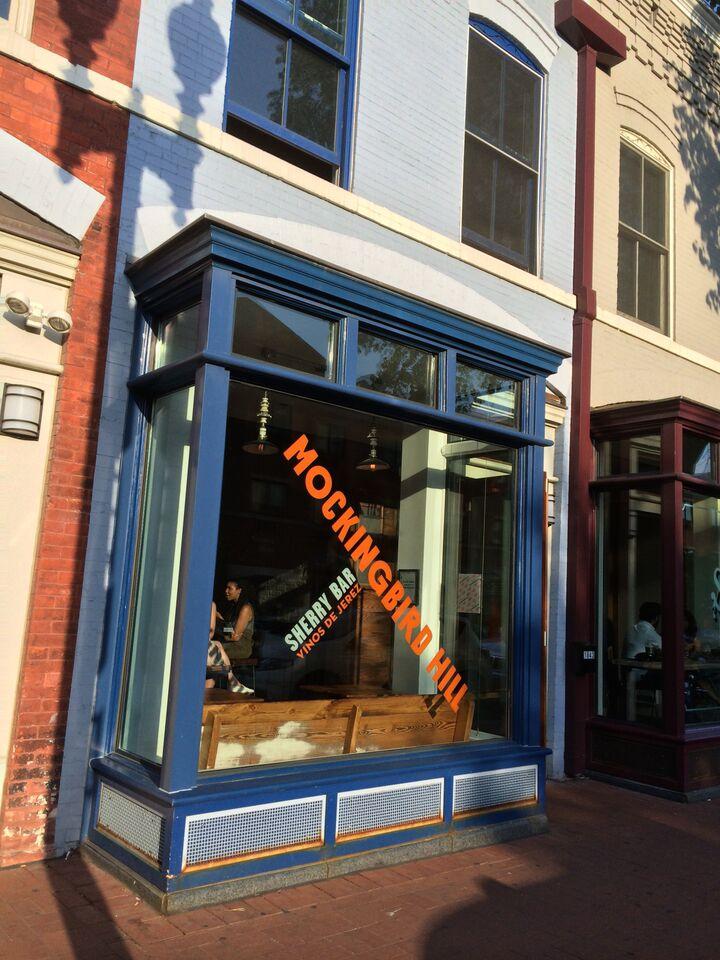 DC's Mockingbird Hill Sherry Bar