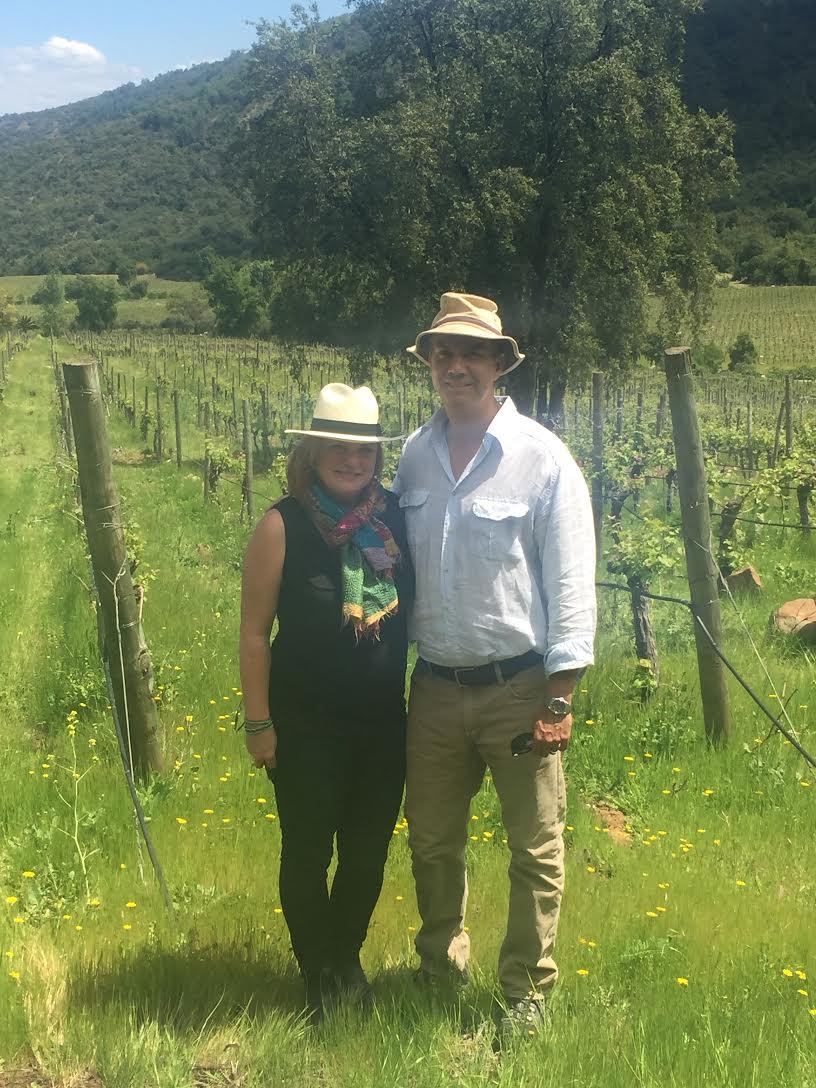 The Neyen vineyard with Rodrigo Soto