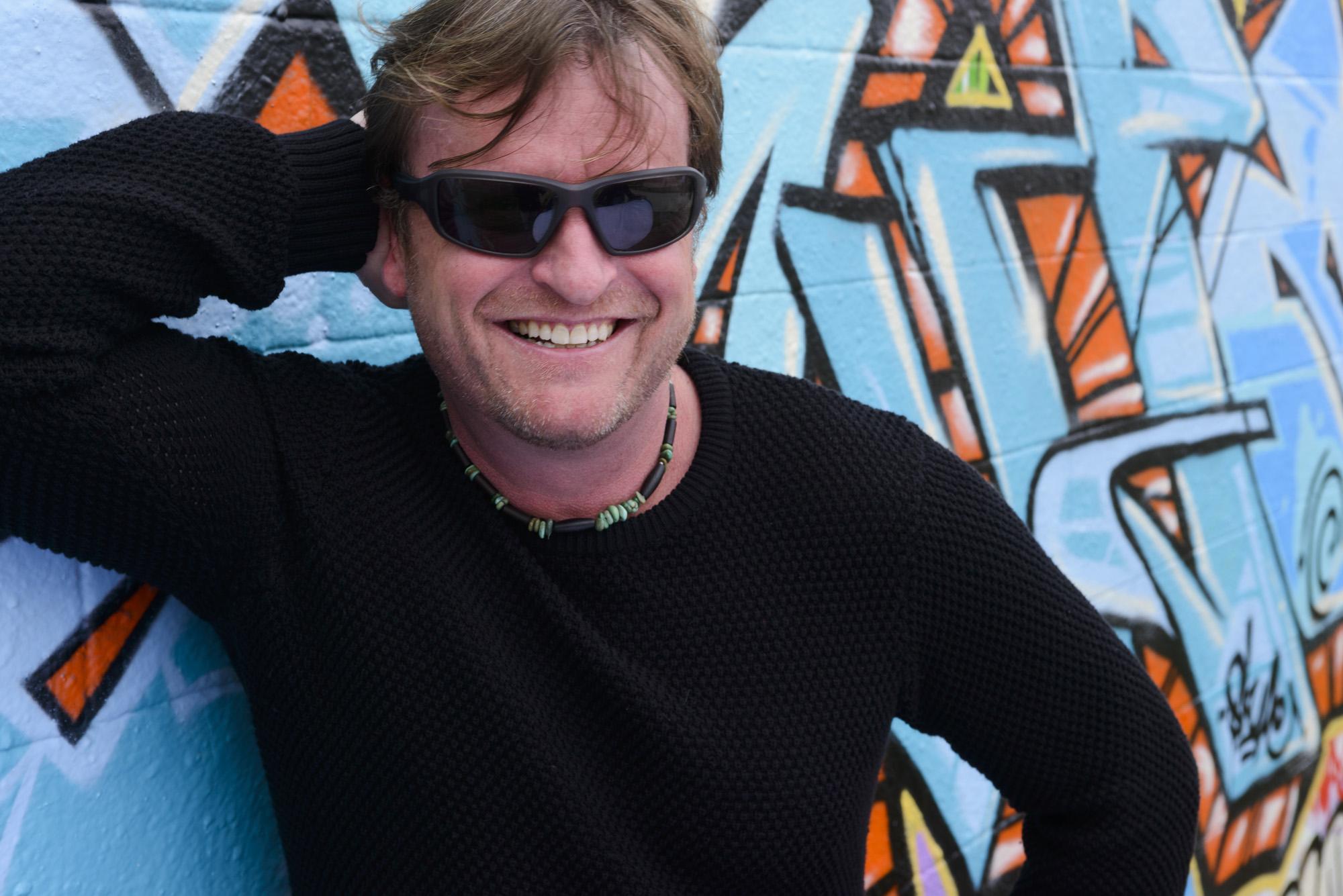 Winemaker Adam LaZarre of Cycles Gladiator. Courtesy of Ken Hanson.