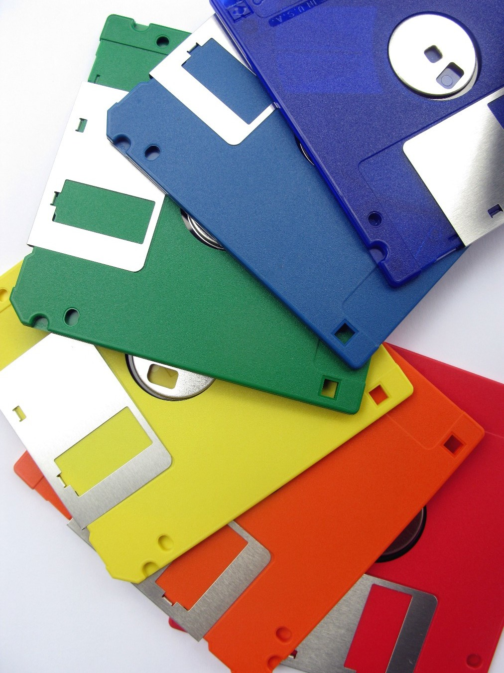 Somewhere, there is a graveyard of floppy disks