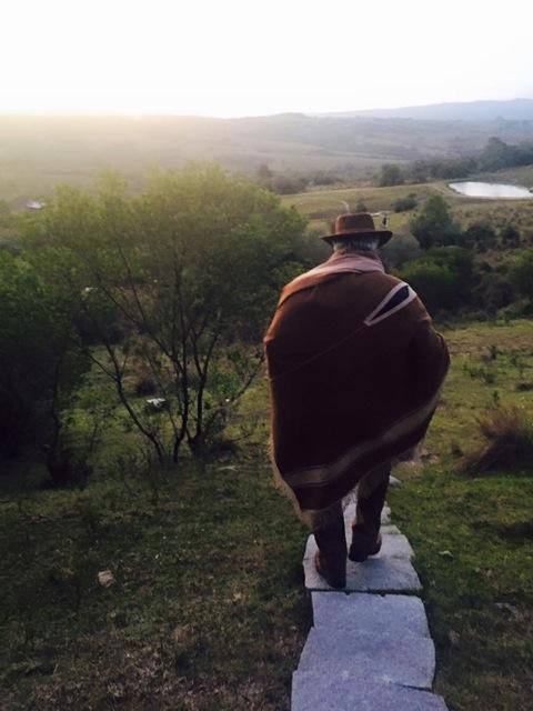 The Meditation Path to Francis Mallman's home Garzon, UY