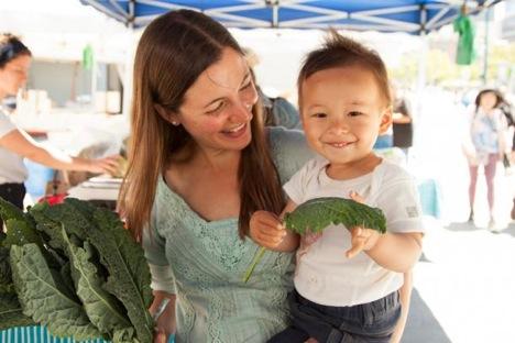 Farming for the future. Photo courtesy of CUESA.