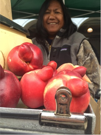 Imperfect peaches at Tory Farms.Photo courtesy of Jules Lydon.