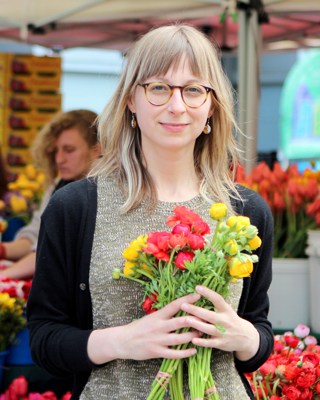 Brie Mazurek, Communications Manager of CUESA.Photo courtesy of CUESA.