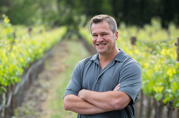Marcus Notaro of Stag's Leap Cellars. Photo courtesy of Decanter.