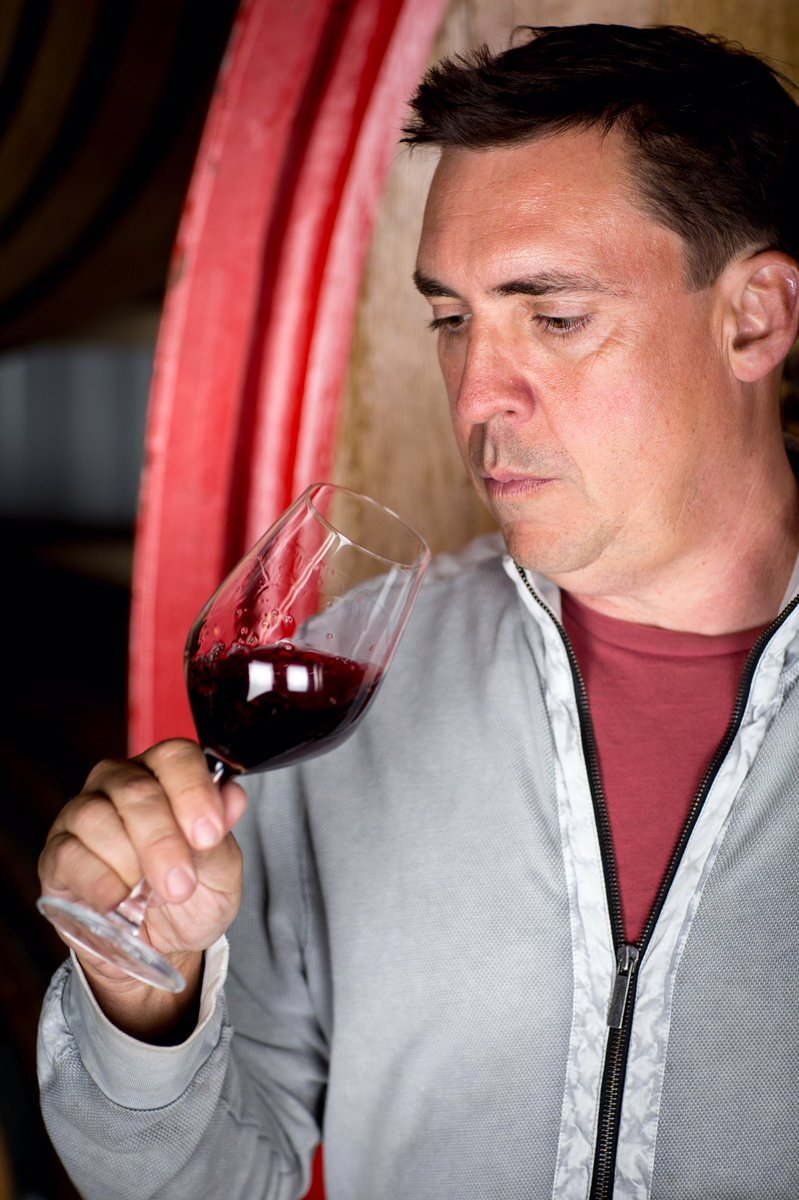 Winemaker Brian Terrizzi of Broadside Wines. Photo courtesy of Brian Terrizzi.