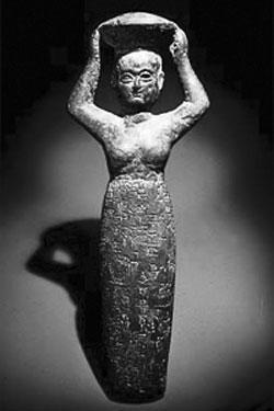 Ancient Sumerian goddess of beer, Ninkasi. Photo courtesy of Froth N Hops.